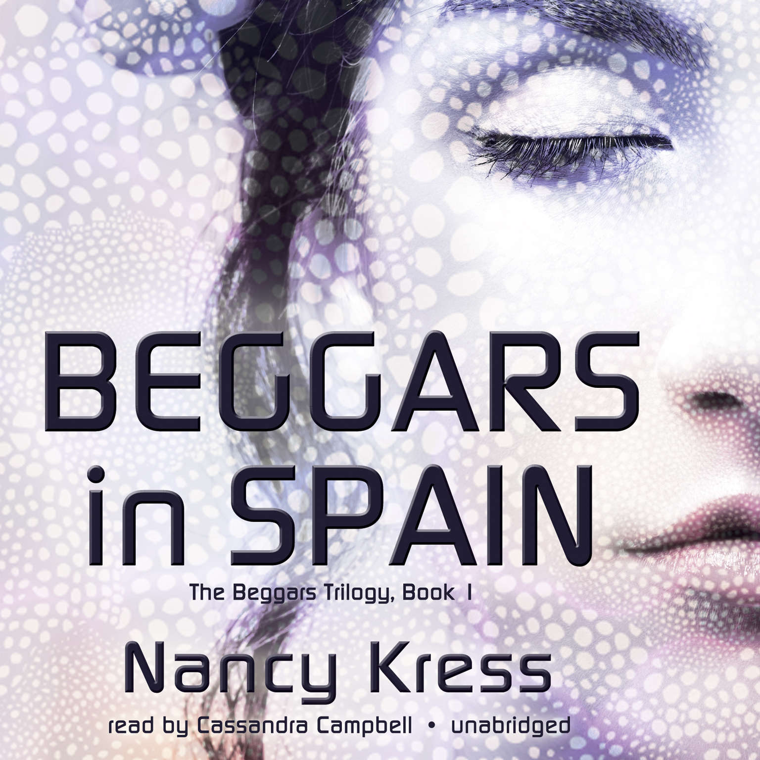 Printable Beggars in Spain Audiobook Cover Art