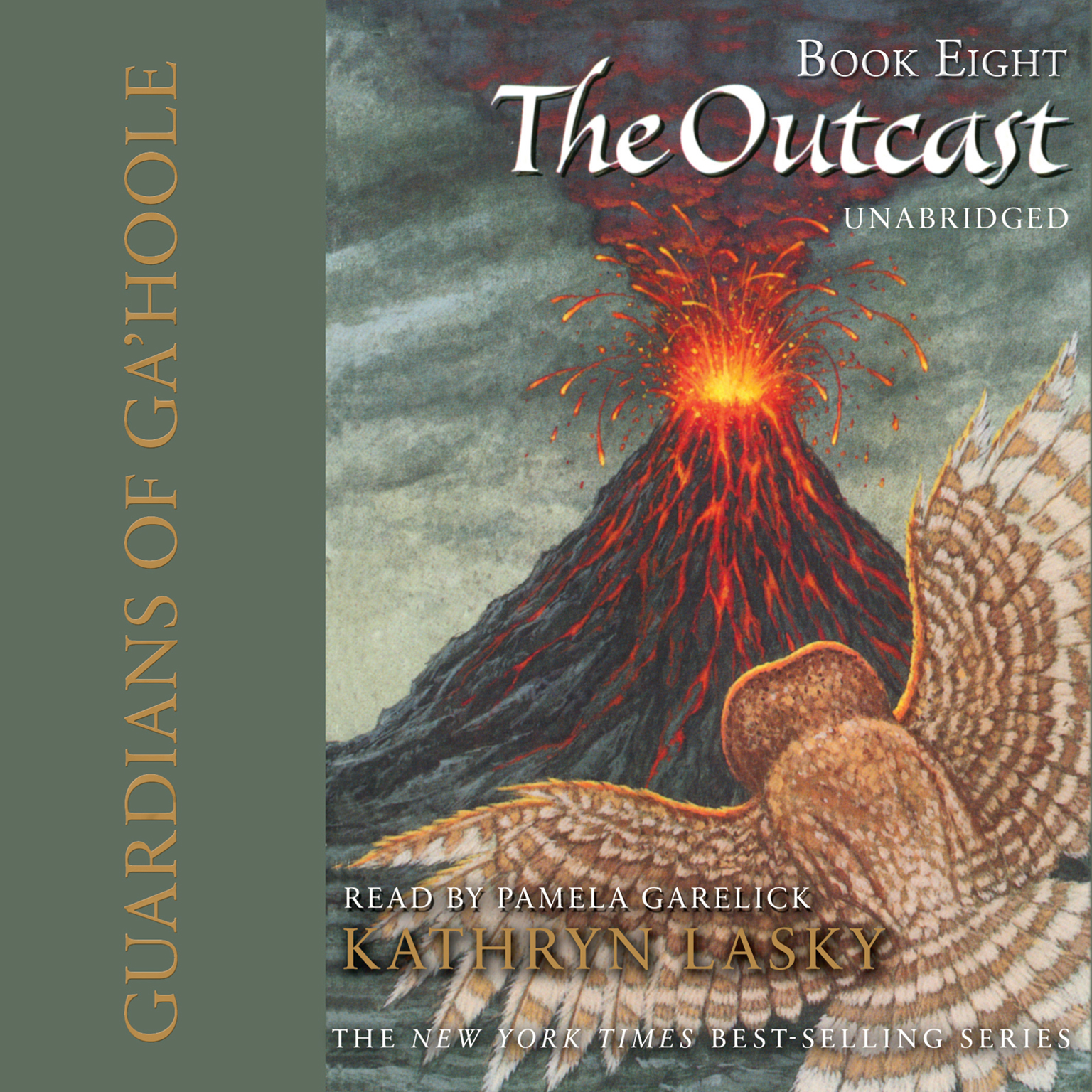 Printable The Outcast Audiobook Cover Art