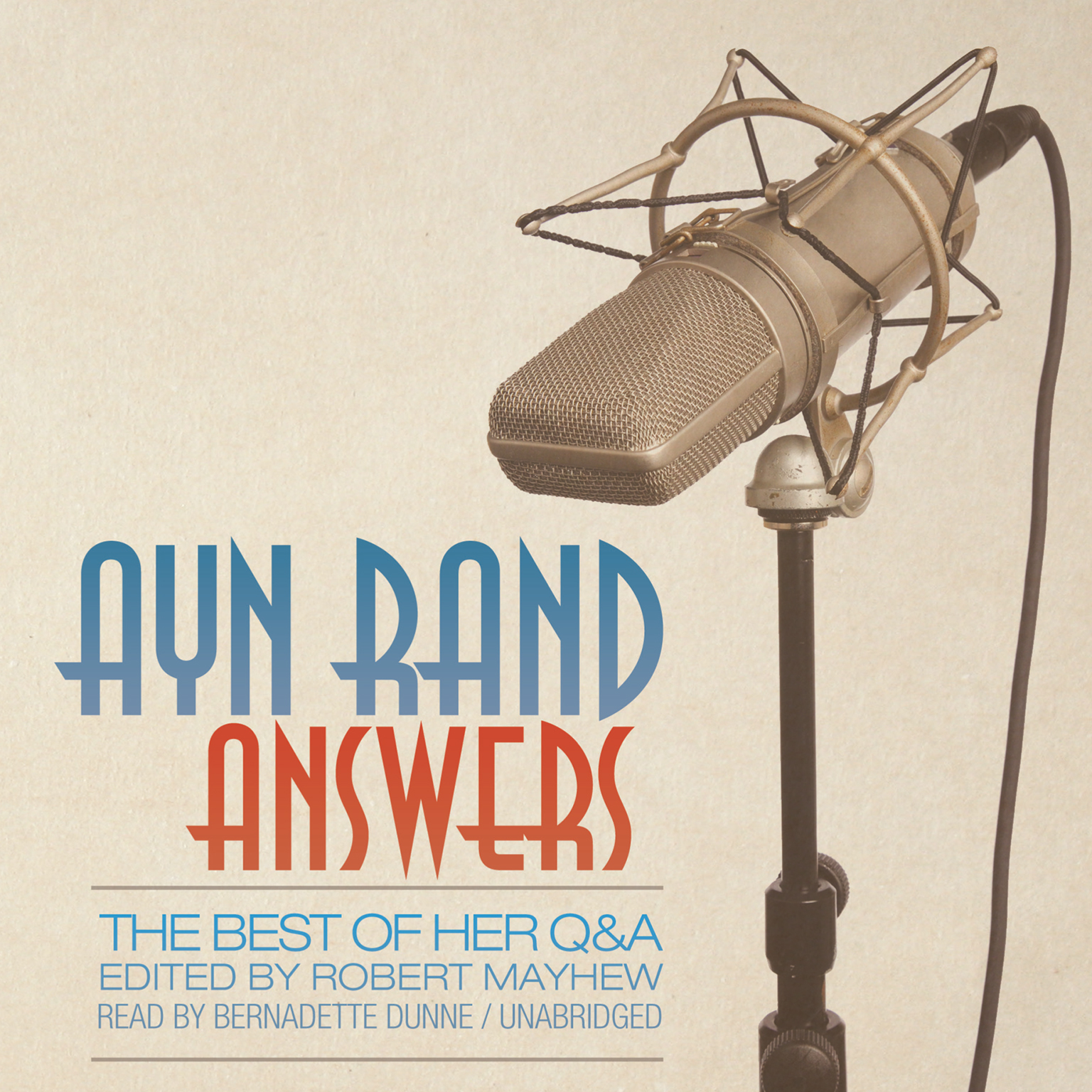 Ayn Rand Book Cover Art : Ayn rand answers audiobook listen instantly