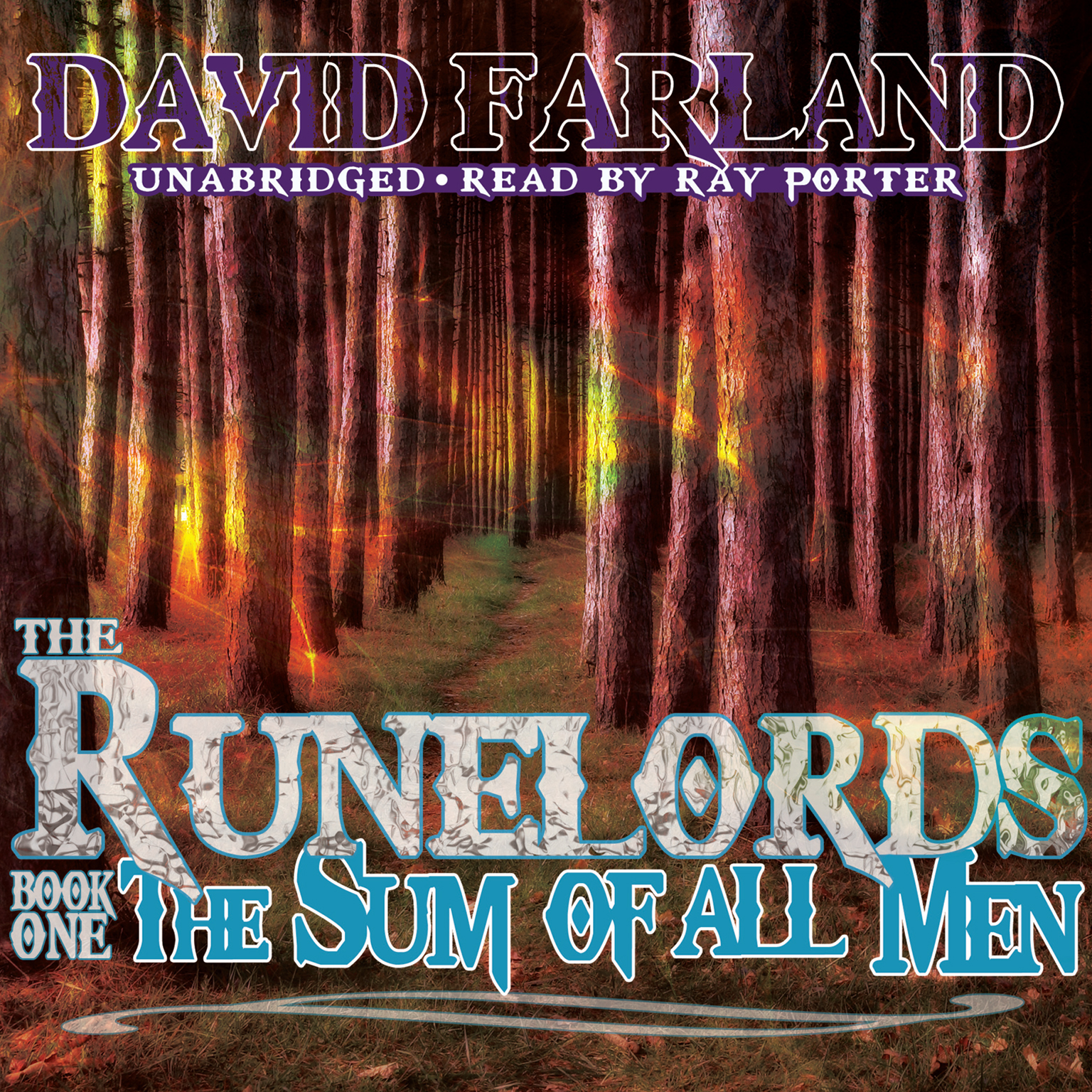 Printable The Sum of All Men Audiobook Cover Art