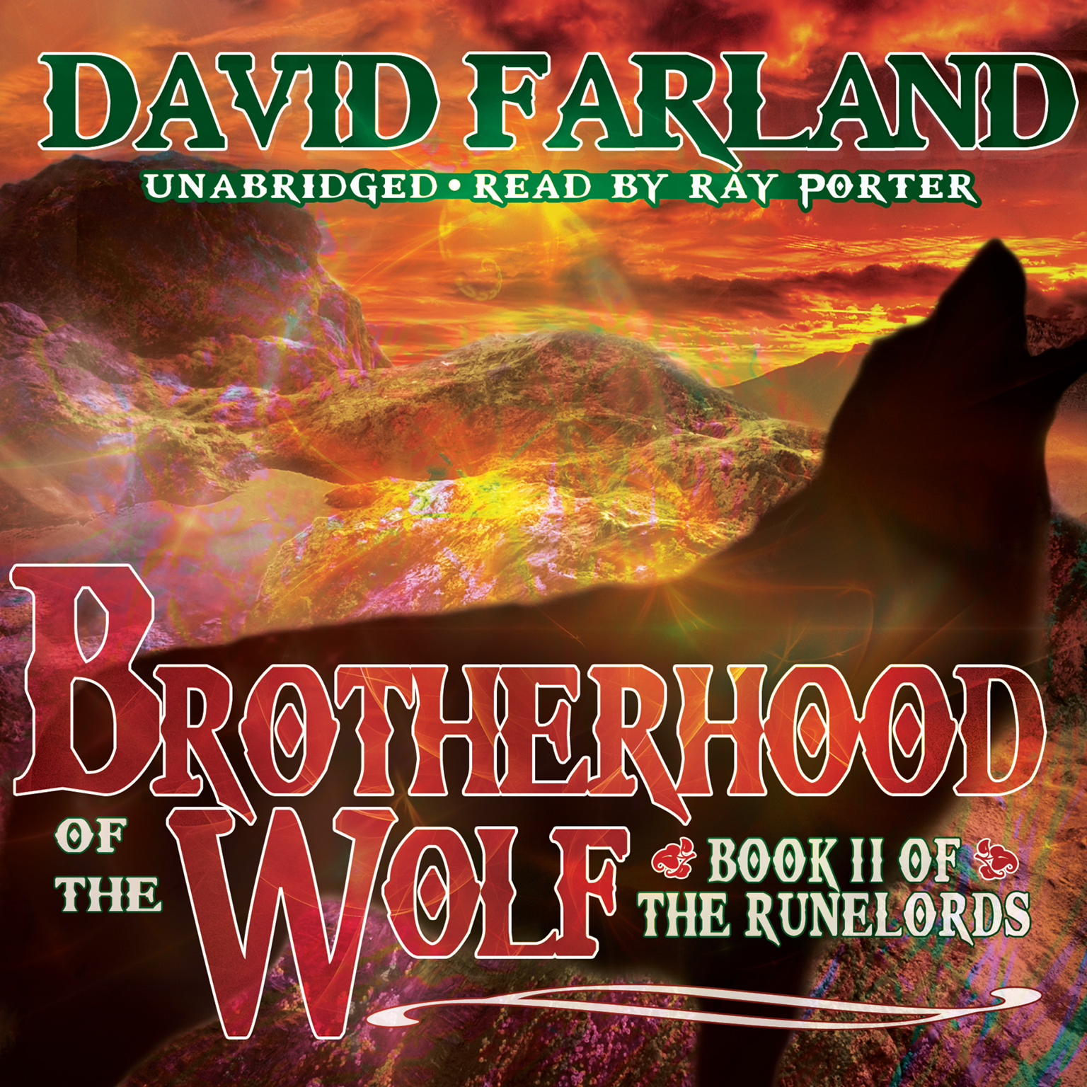 Printable Brotherhood of the Wolf Audiobook Cover Art