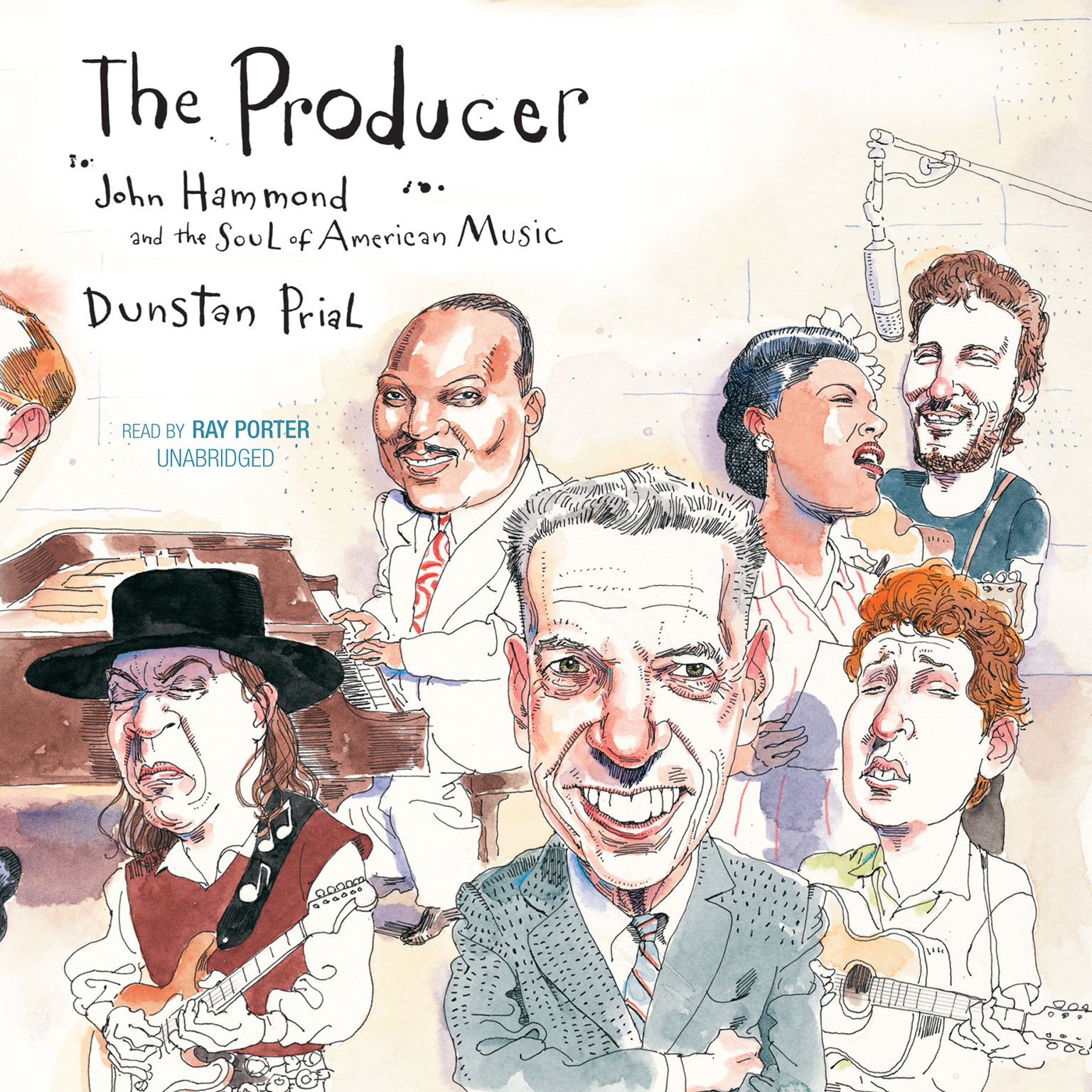 Printable The Producer: John Hammond and the Soul of American Music Audiobook Cover Art