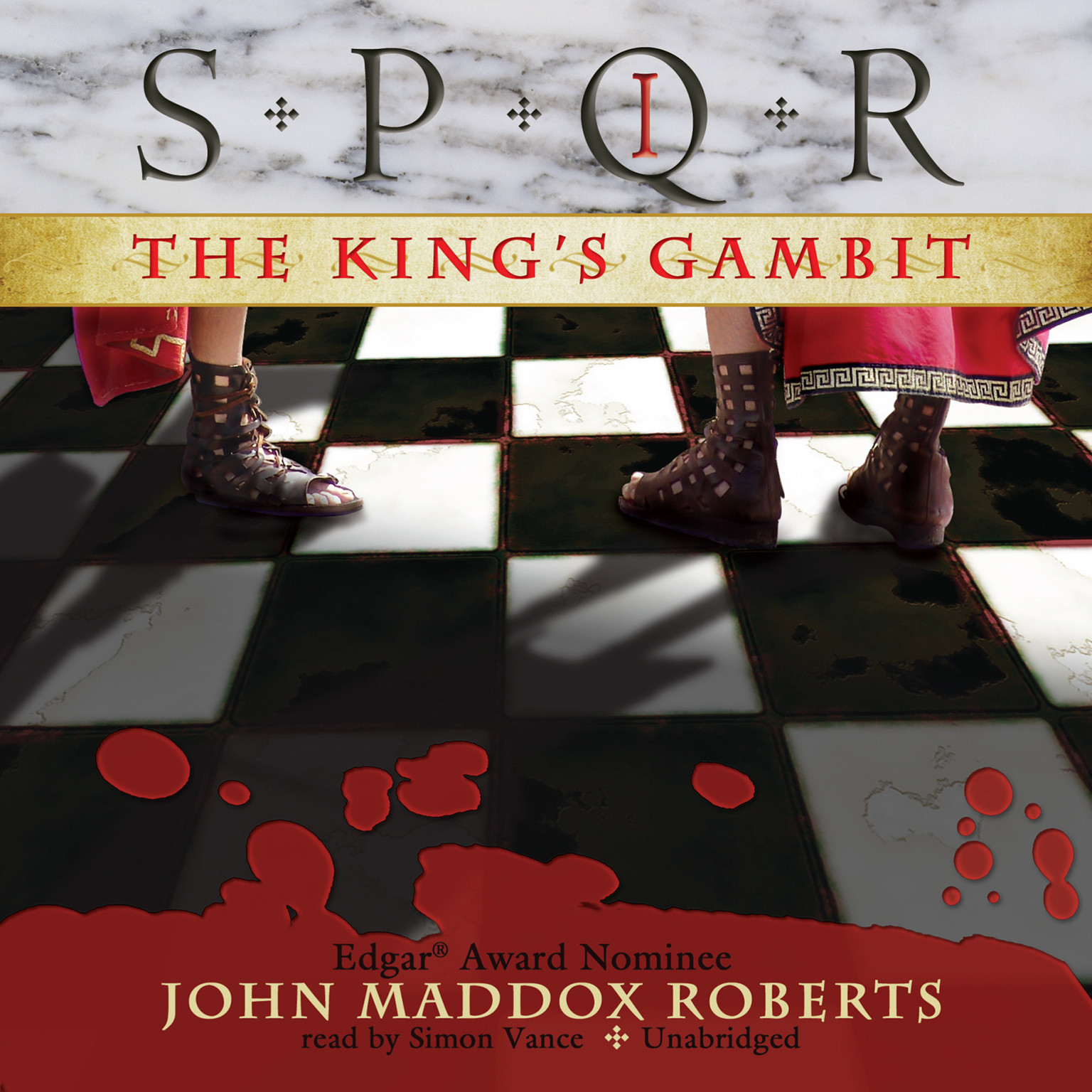 Printable The King's Gambit Audiobook Cover Art