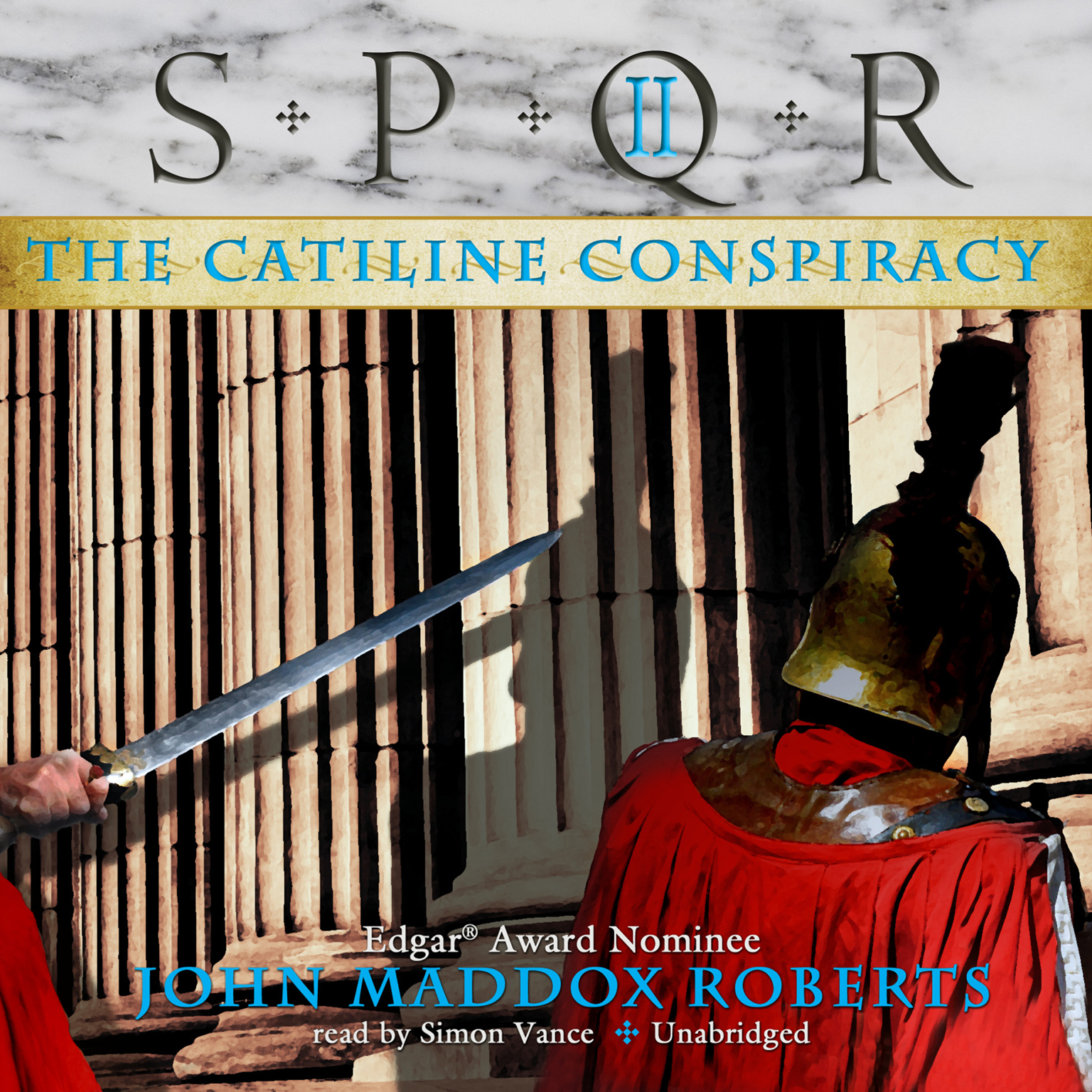 Printable The Catiline Conspiracy Audiobook Cover Art