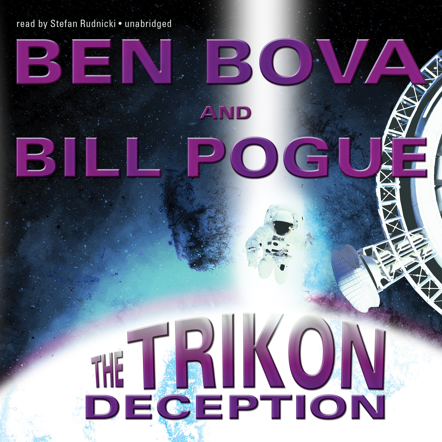 Printable The Trikon Deception Audiobook Cover Art