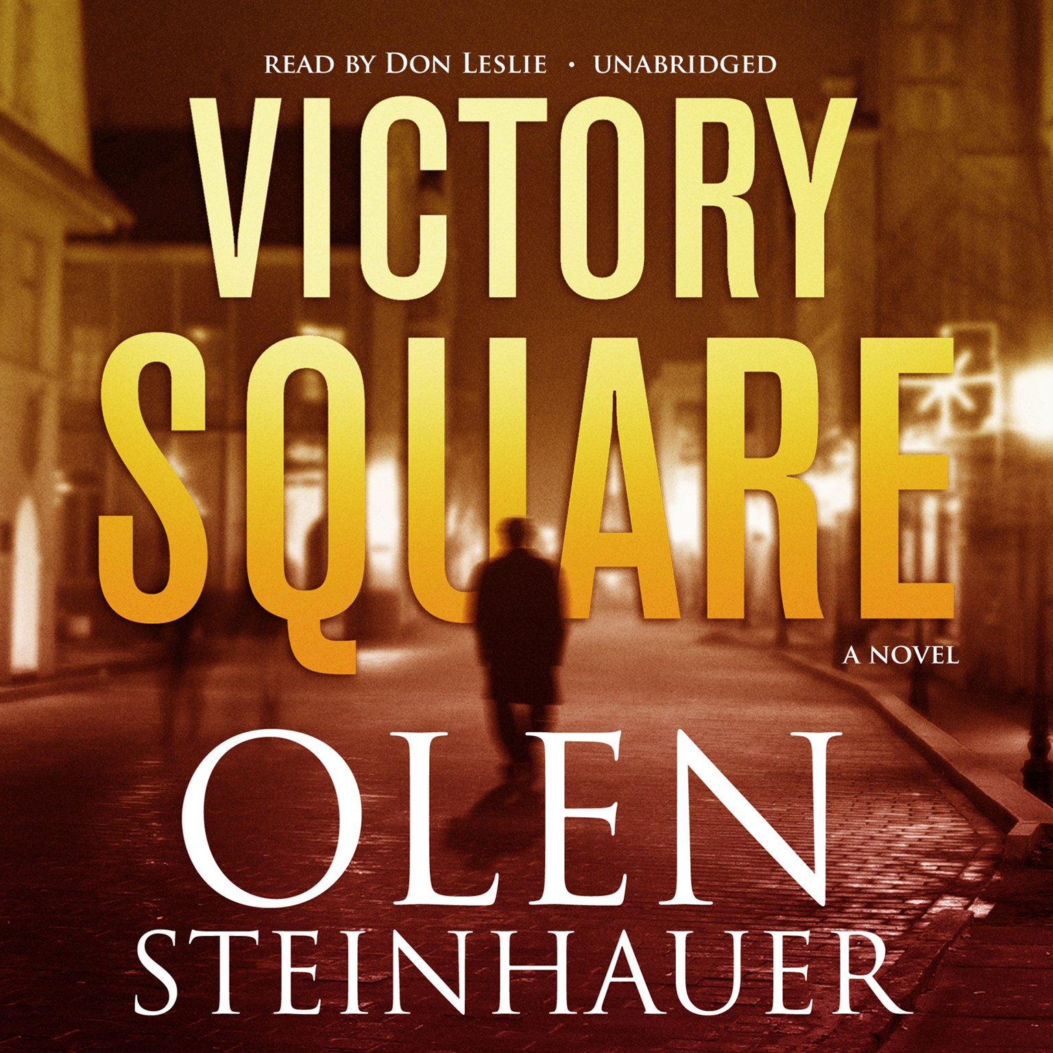 Printable Victory Square: A Novel Audiobook Cover Art