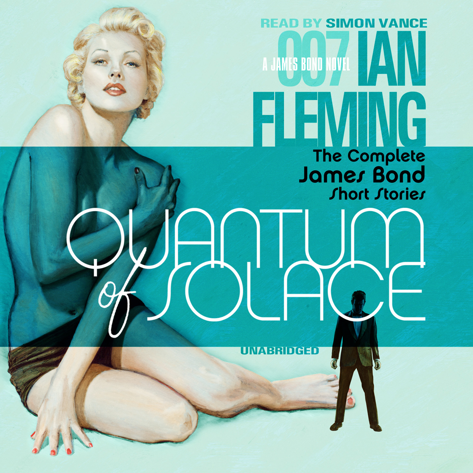 Printable Quantum of Solace: The Complete James Bond Short Stories Audiobook Cover Art
