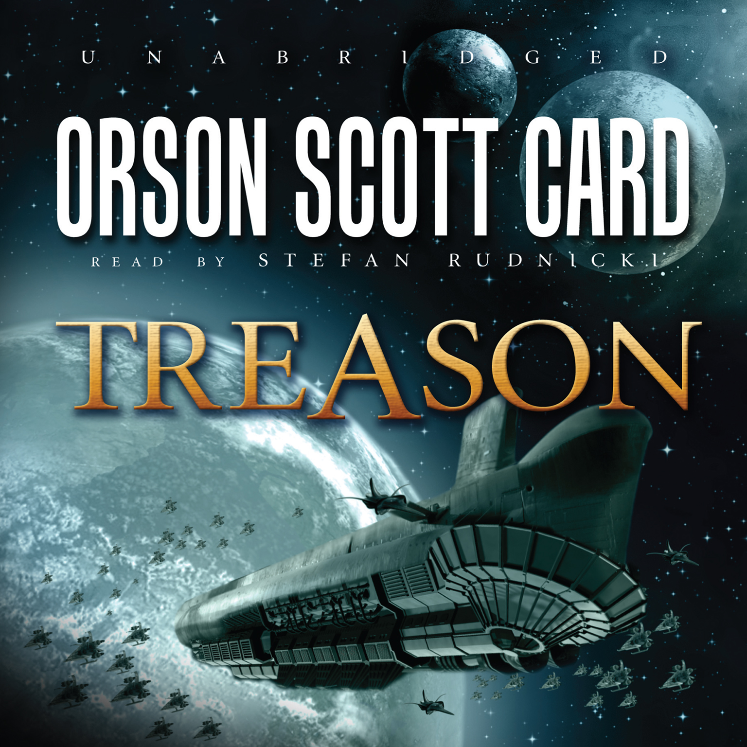 Printable Treason Audiobook Cover Art