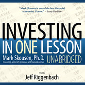 Investing in One Lesson Audiobook, by Mark Skousen