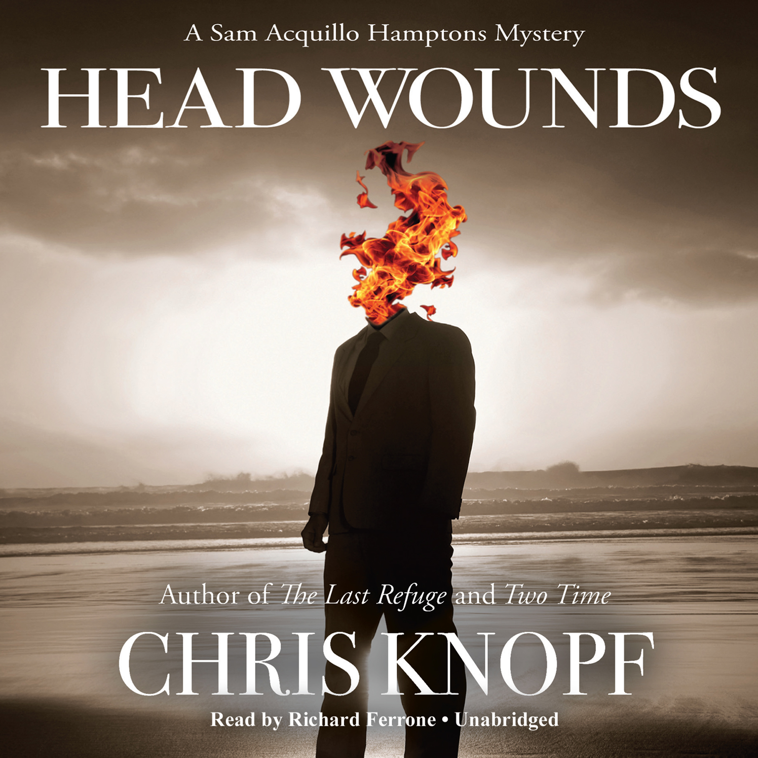 Printable Head Wounds Audiobook Cover Art