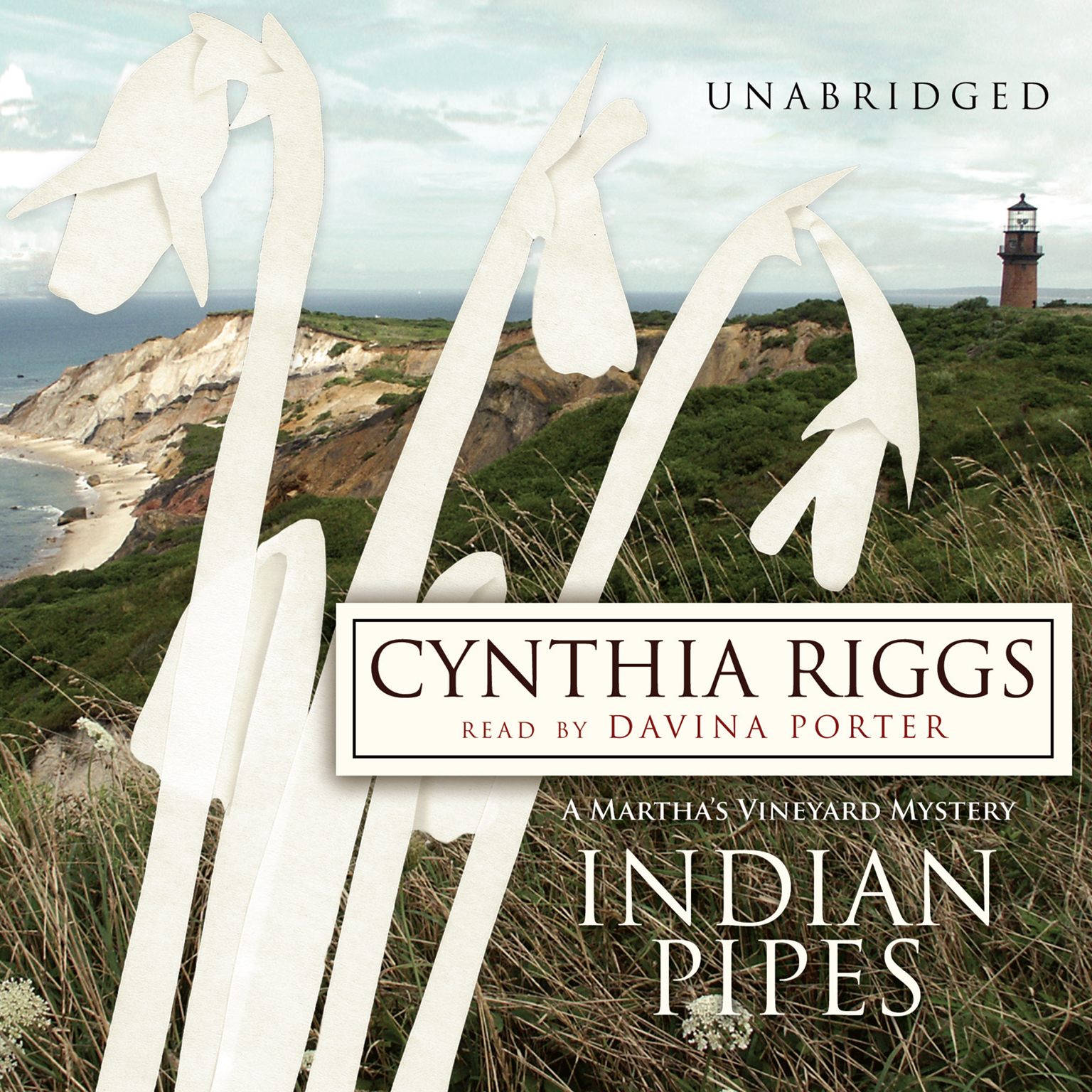 Printable Indian Pipes: A Martha's Vineyard Mystery Audiobook Cover Art