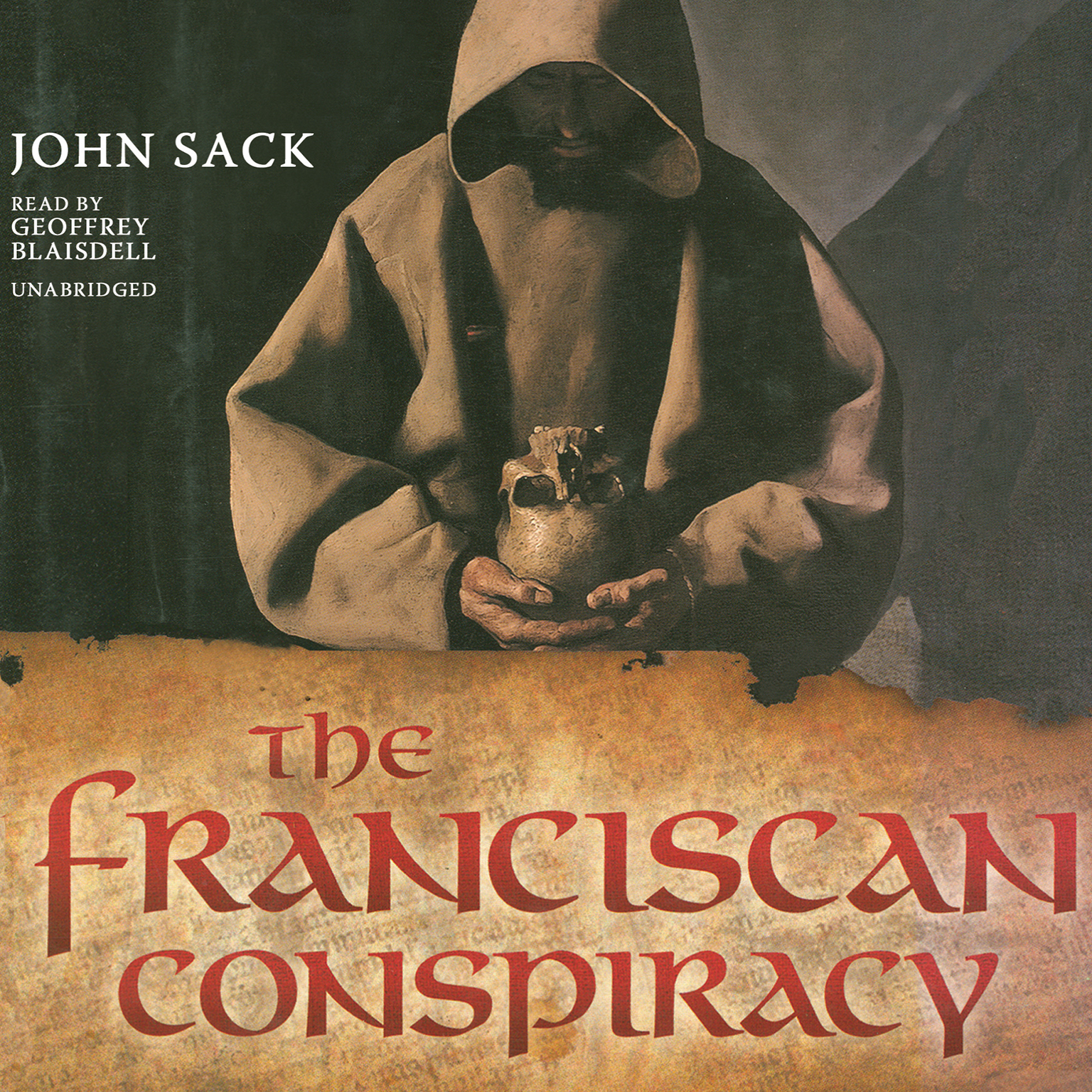 Printable The Franciscan Conspiracy Audiobook Cover Art