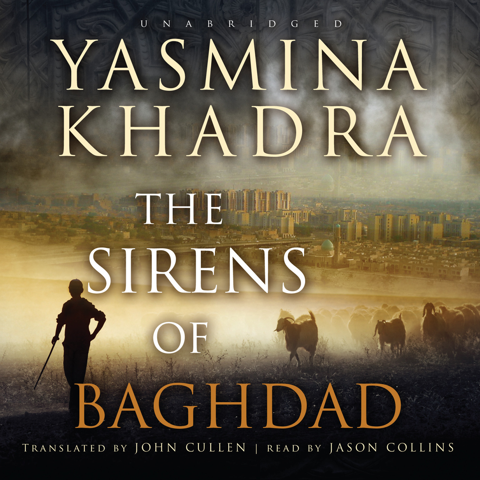 Printable The Sirens of Baghdad Audiobook Cover Art