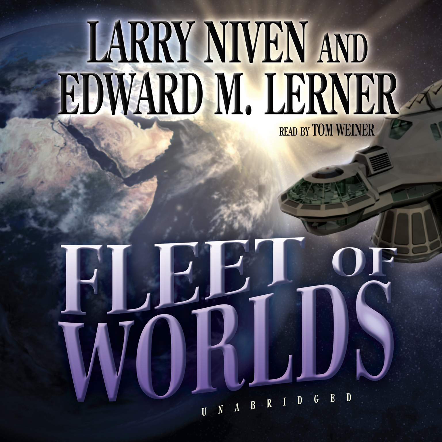 Printable Fleet of Worlds Audiobook Cover Art