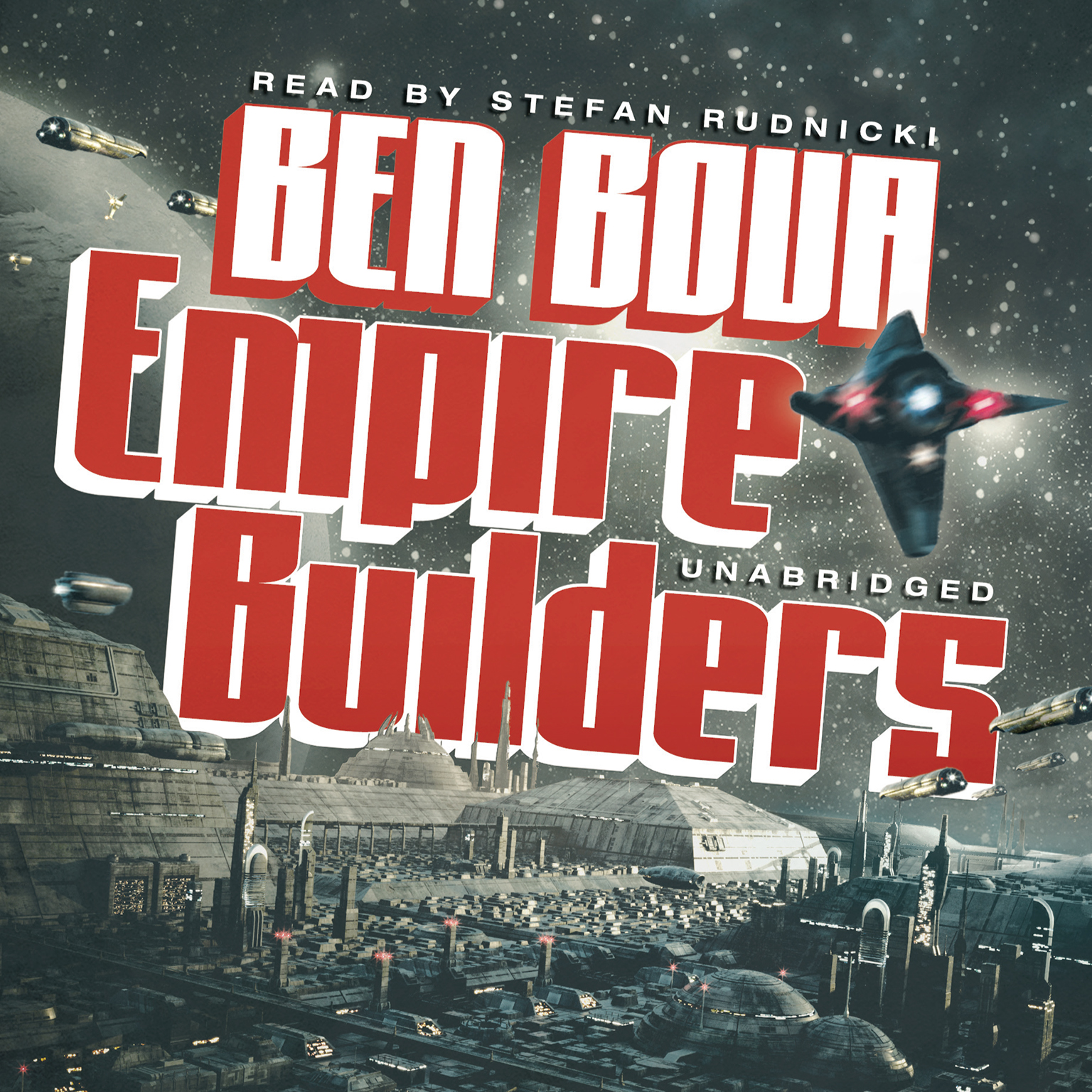 Printable Empire Builders Audiobook Cover Art