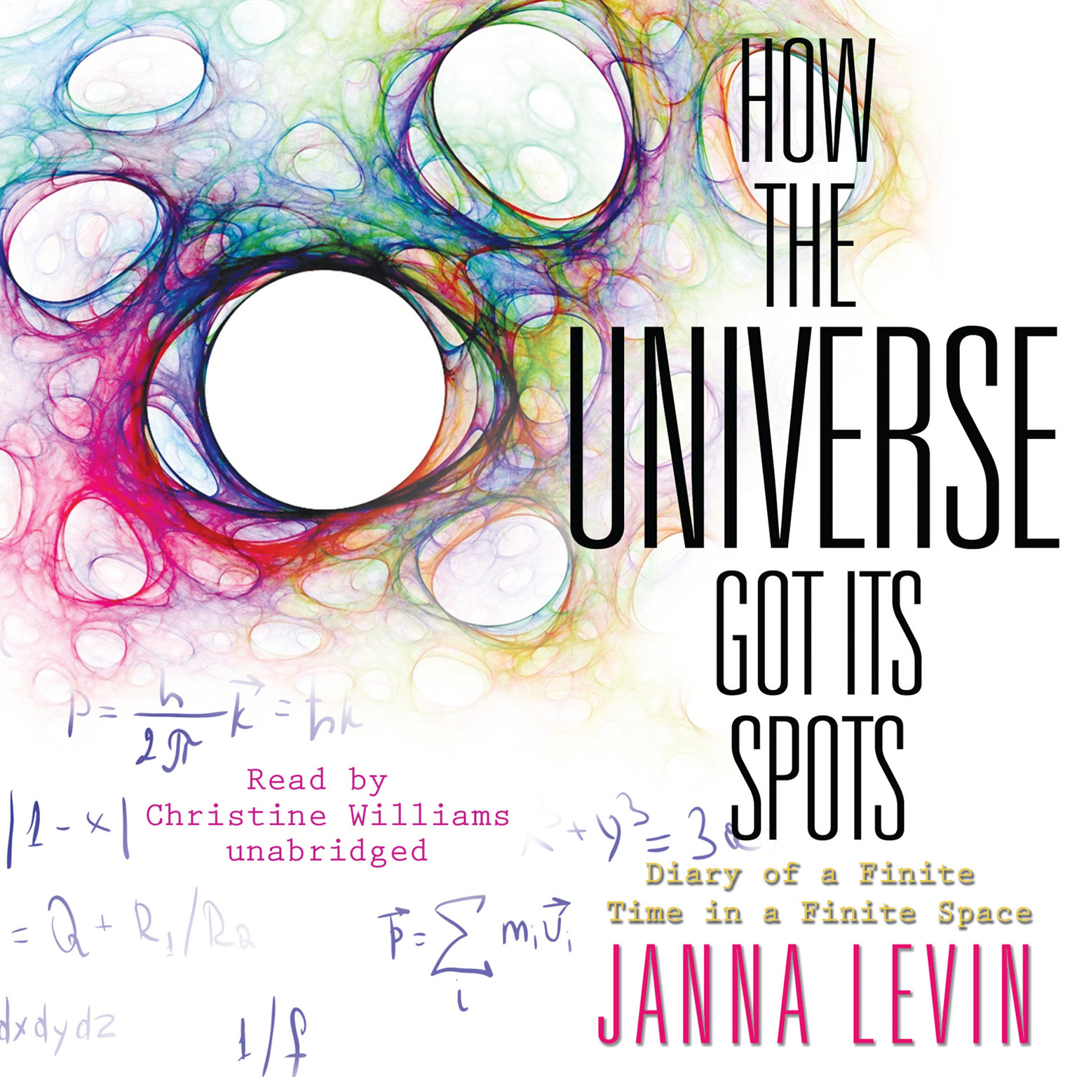 Printable How the Universe Got Its Spots: Diary of a Finite Time in a Finite Space Audiobook Cover Art