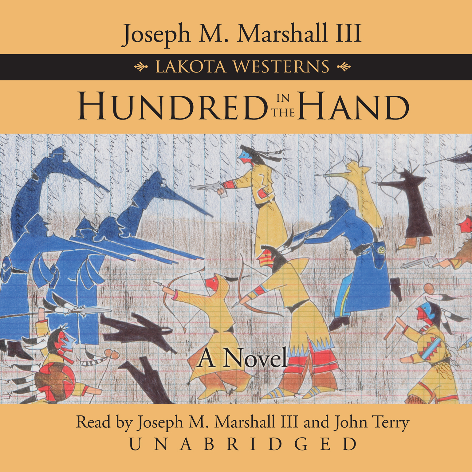 Printable Hundred in the Hand: A Novel Audiobook Cover Art