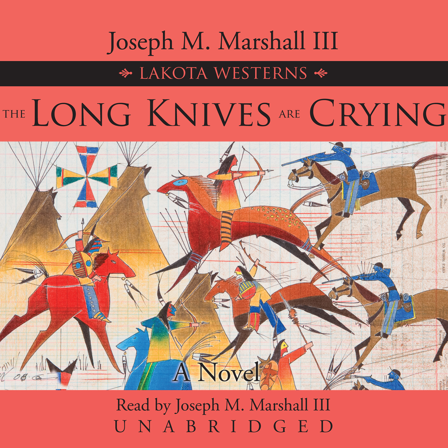 Printable The Long Knives Are Crying Audiobook Cover Art