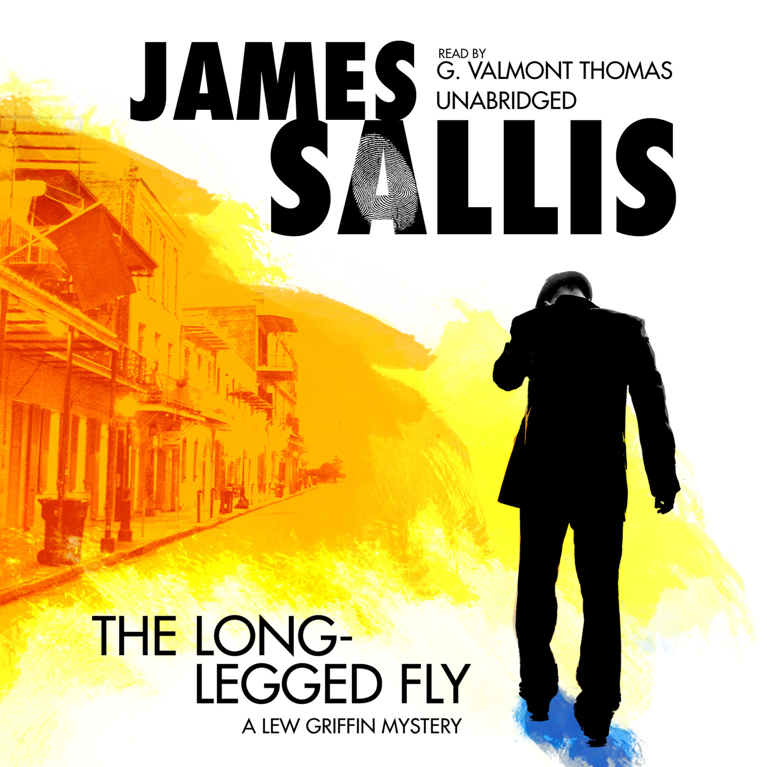 Printable The Long-Legged Fly Audiobook Cover Art