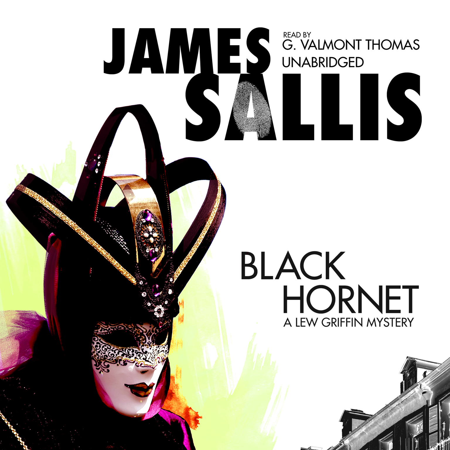 Printable Black Hornet: A Lew Griffin Mystery Audiobook Cover Art