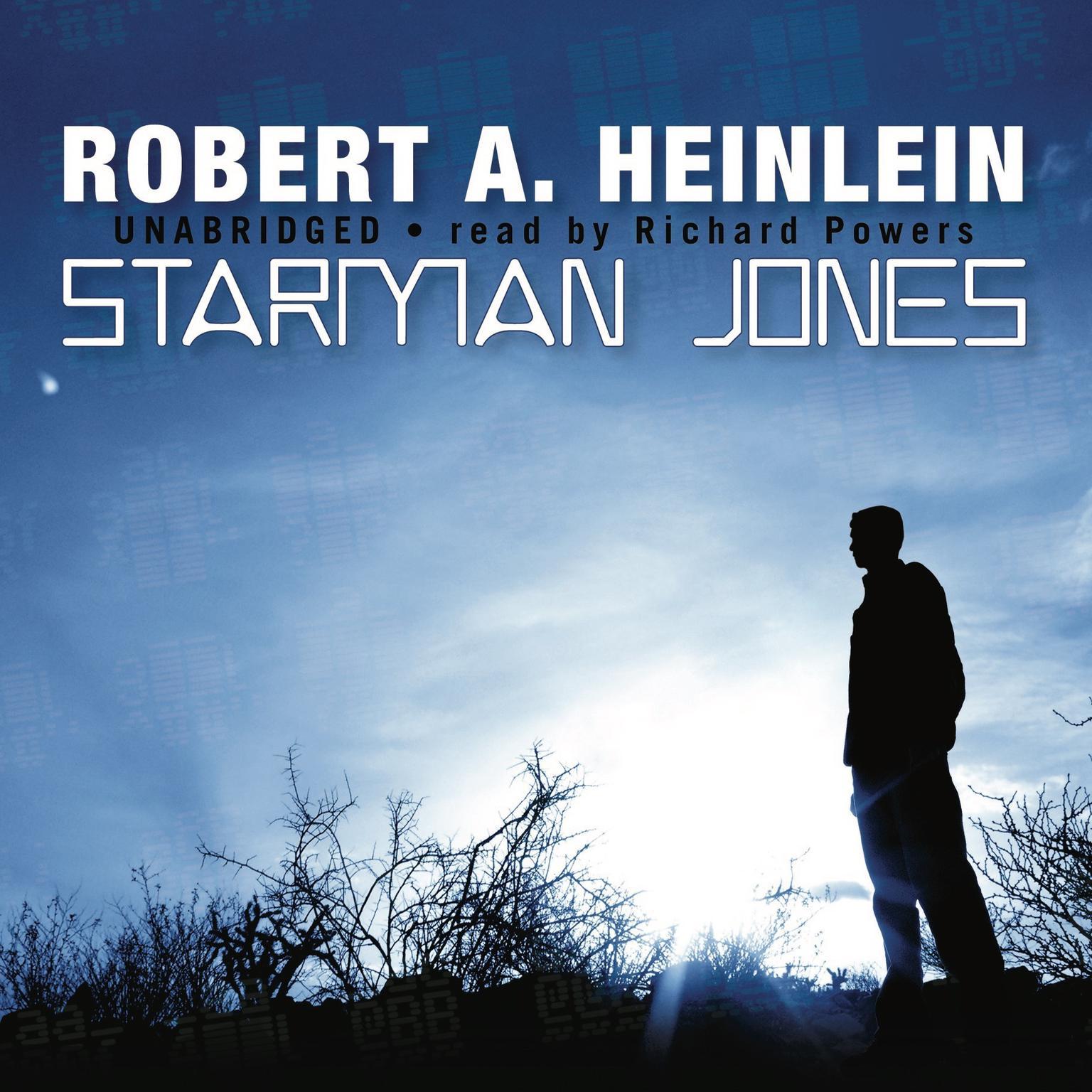 Printable Starman Jones Audiobook Cover Art