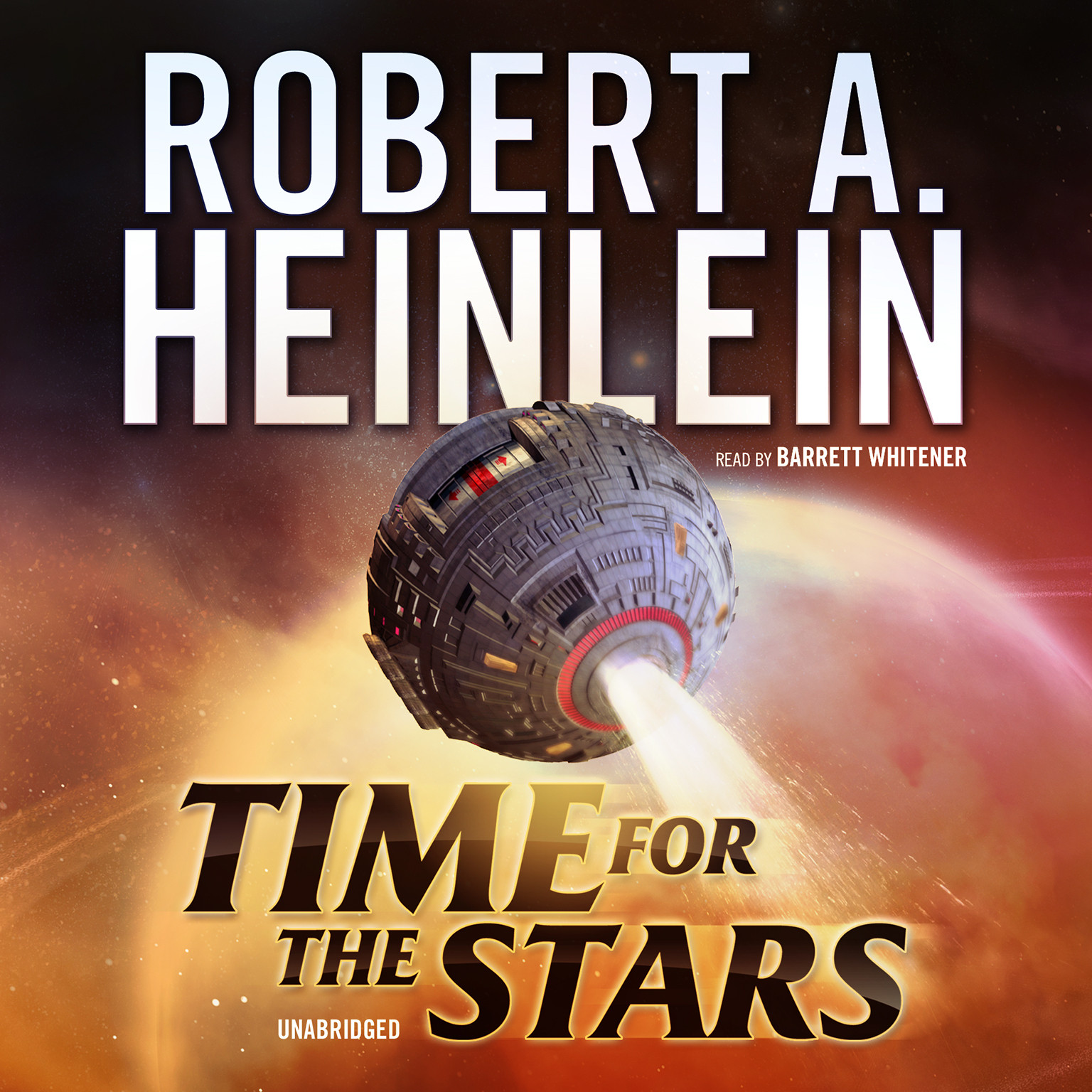 Printable Time for the Stars Audiobook Cover Art