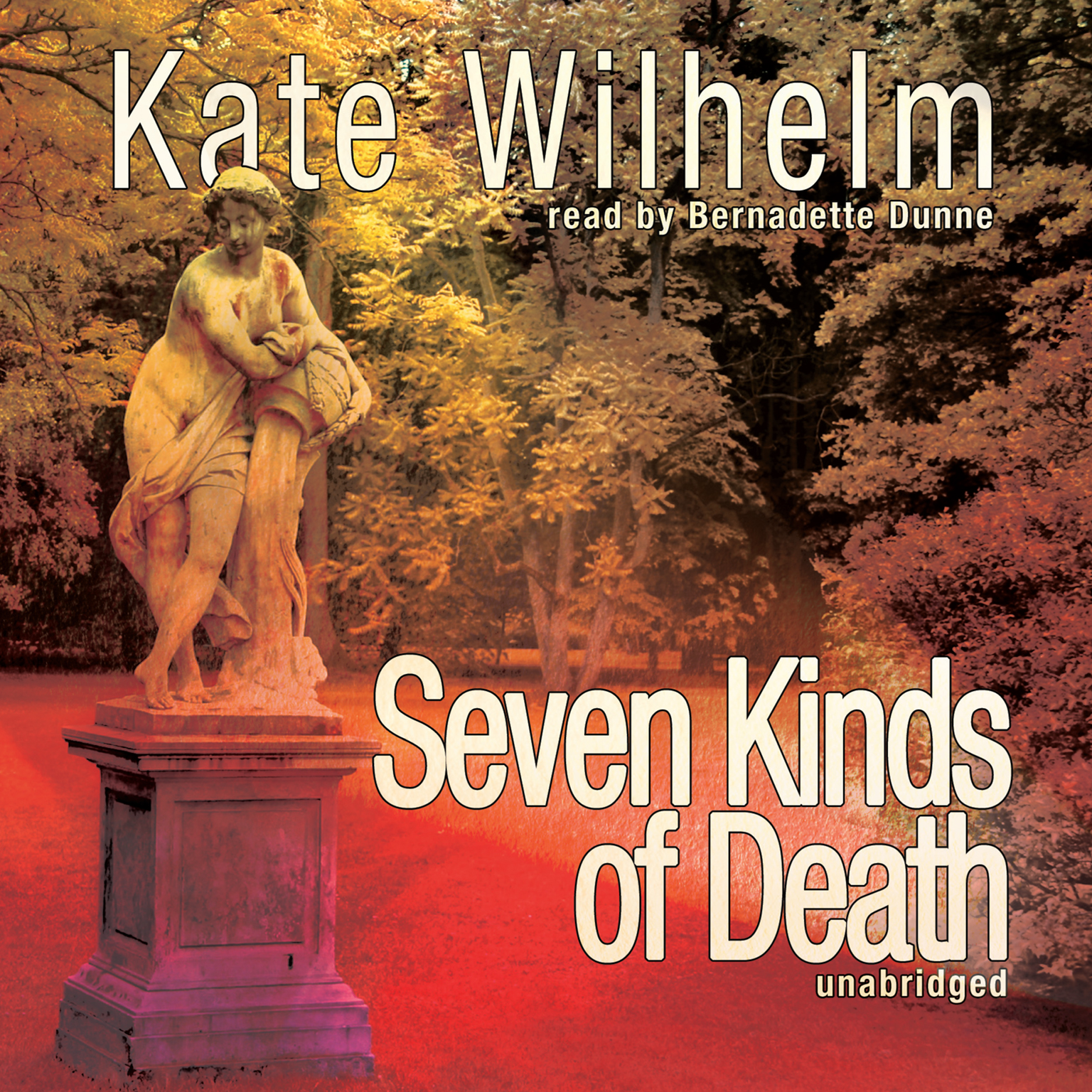 Printable Seven Kinds of Death Audiobook Cover Art