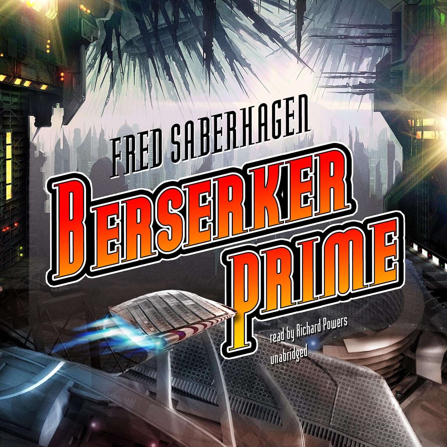 Printable Berserker Prime Audiobook Cover Art
