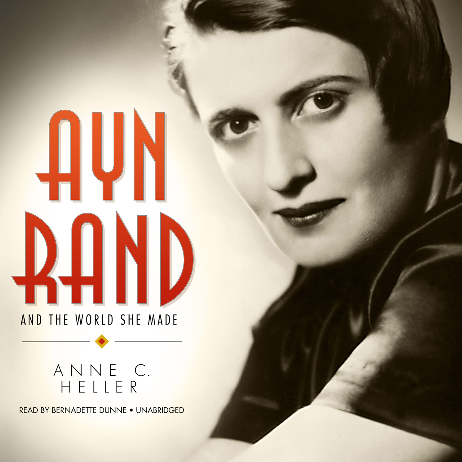 Ayn Rand Book Cover Art : Ayn rand and the world she made audiobook listen