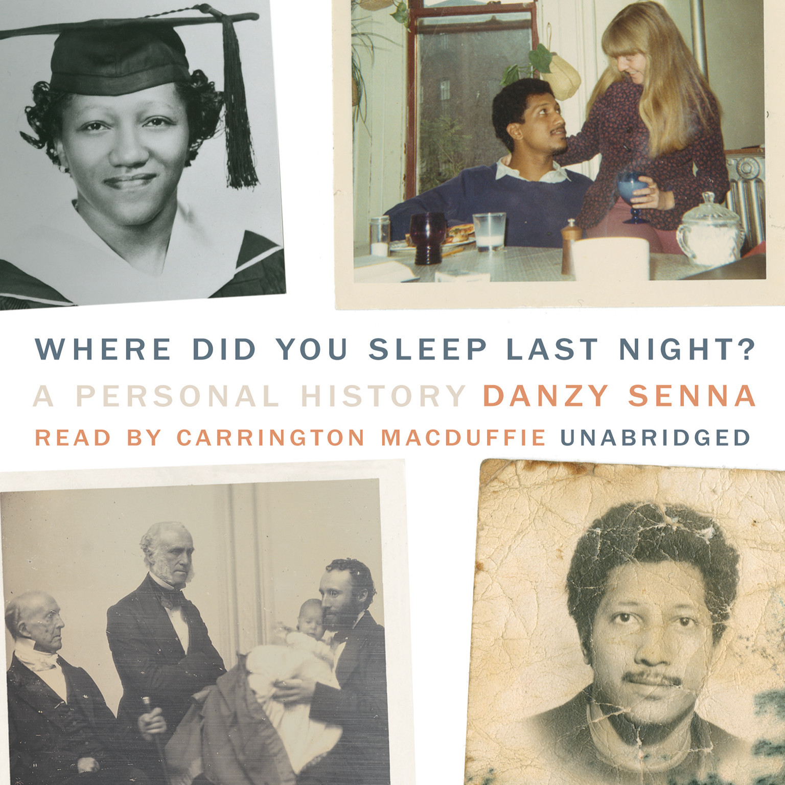 Printable Where Did You Sleep Last Night?: A Personal History Audiobook Cover Art