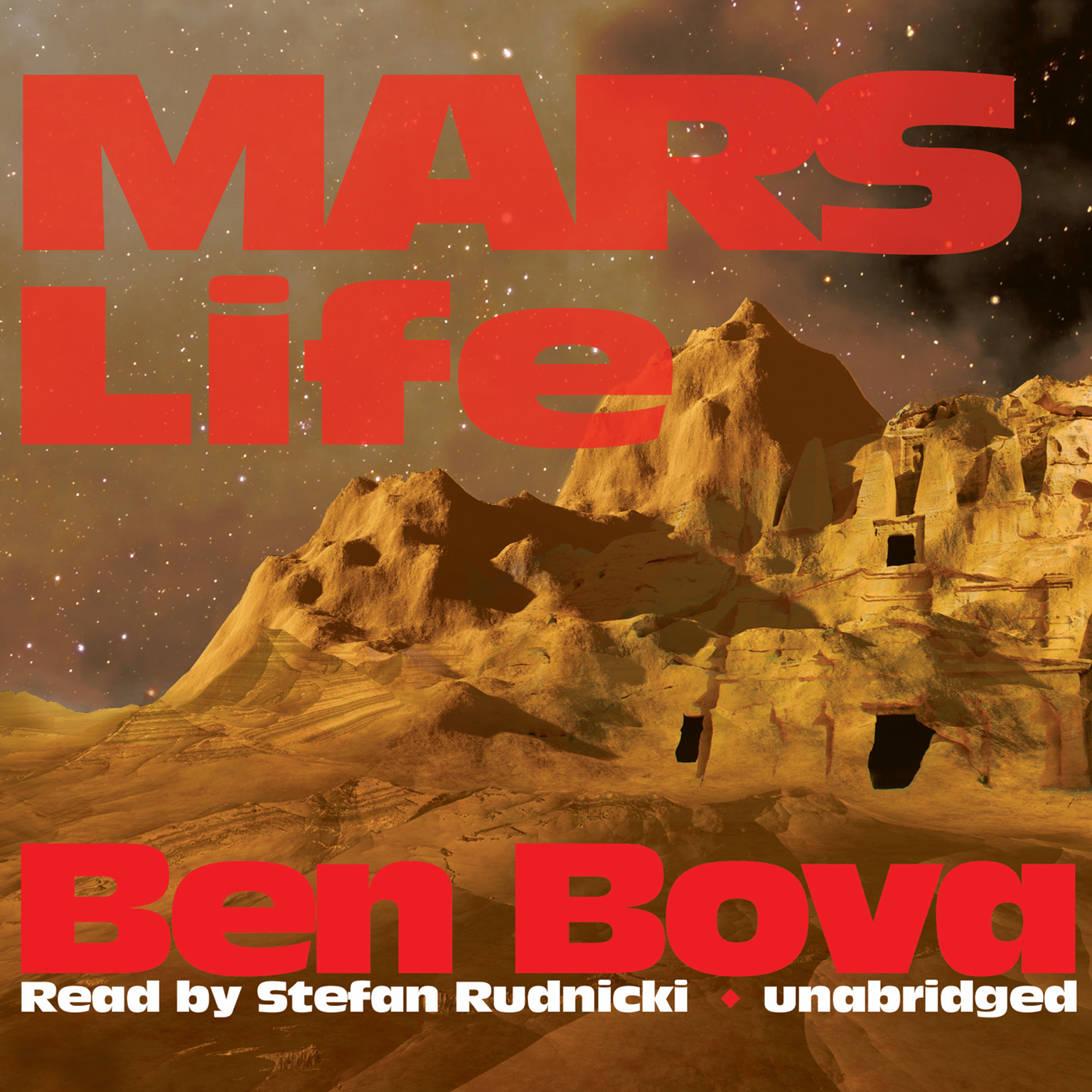 Printable Mars Life Audiobook Cover Art