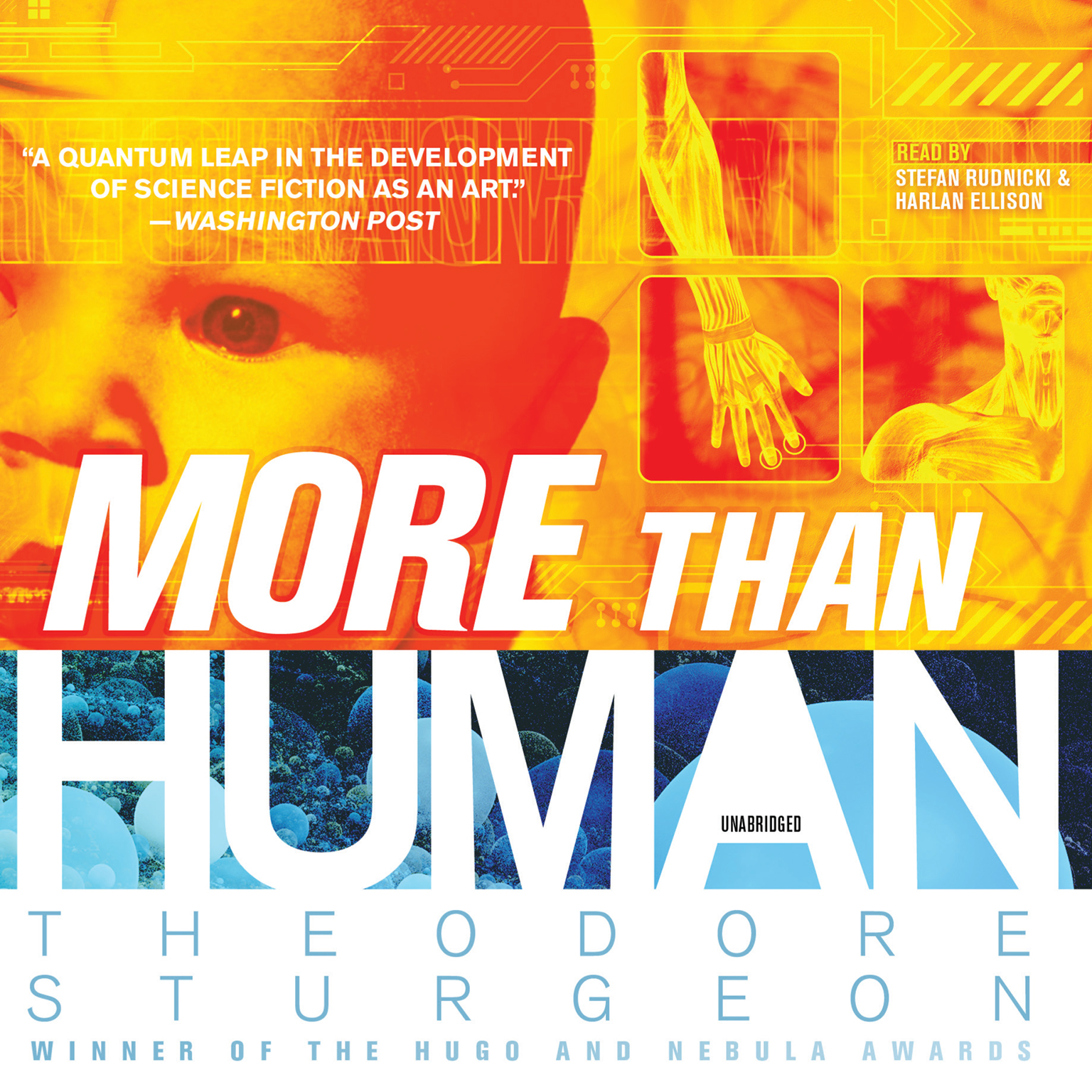 Printable More Than Human Audiobook Cover Art
