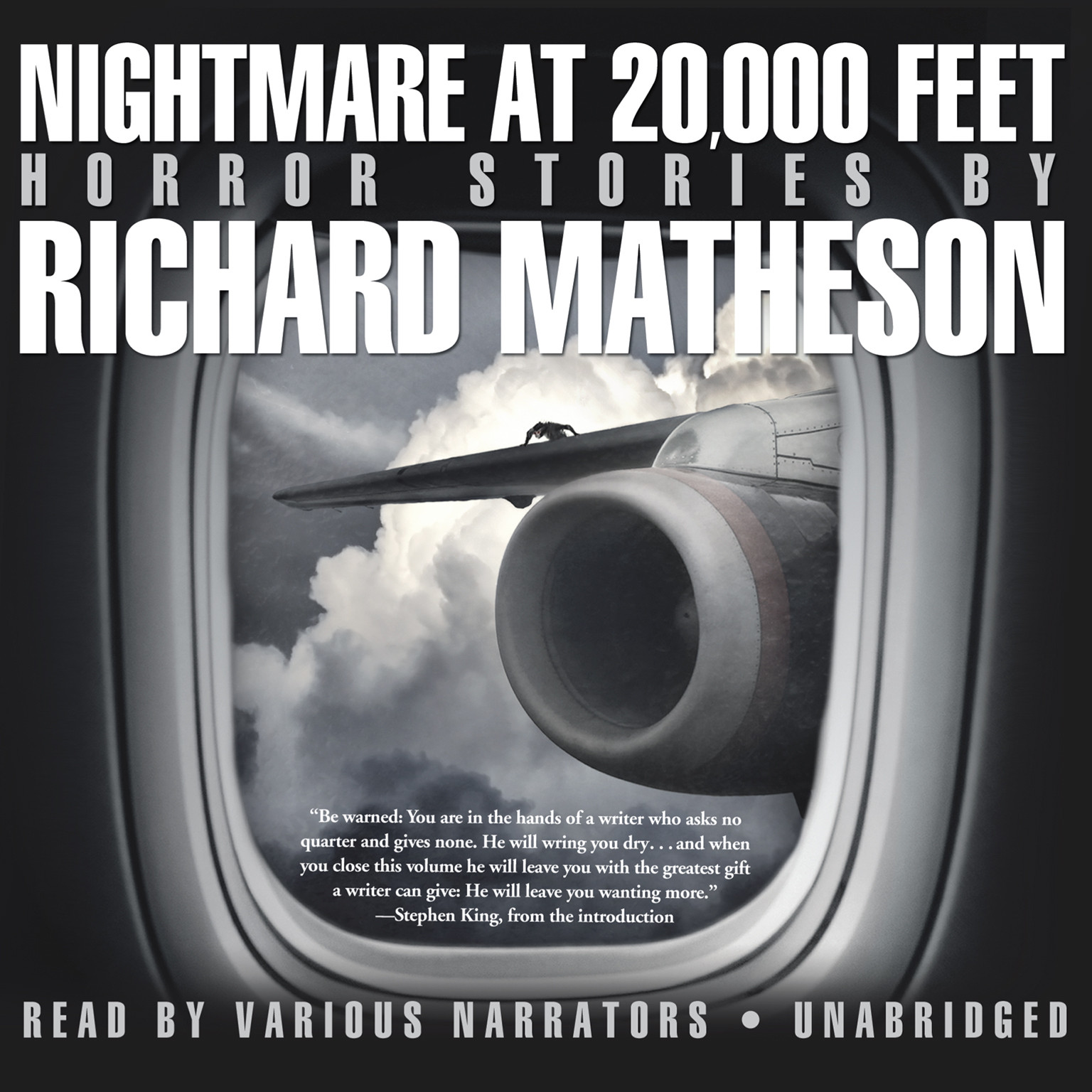 Printable Nightmare at 20,000 Feet: Horror Stories Audiobook Cover Art