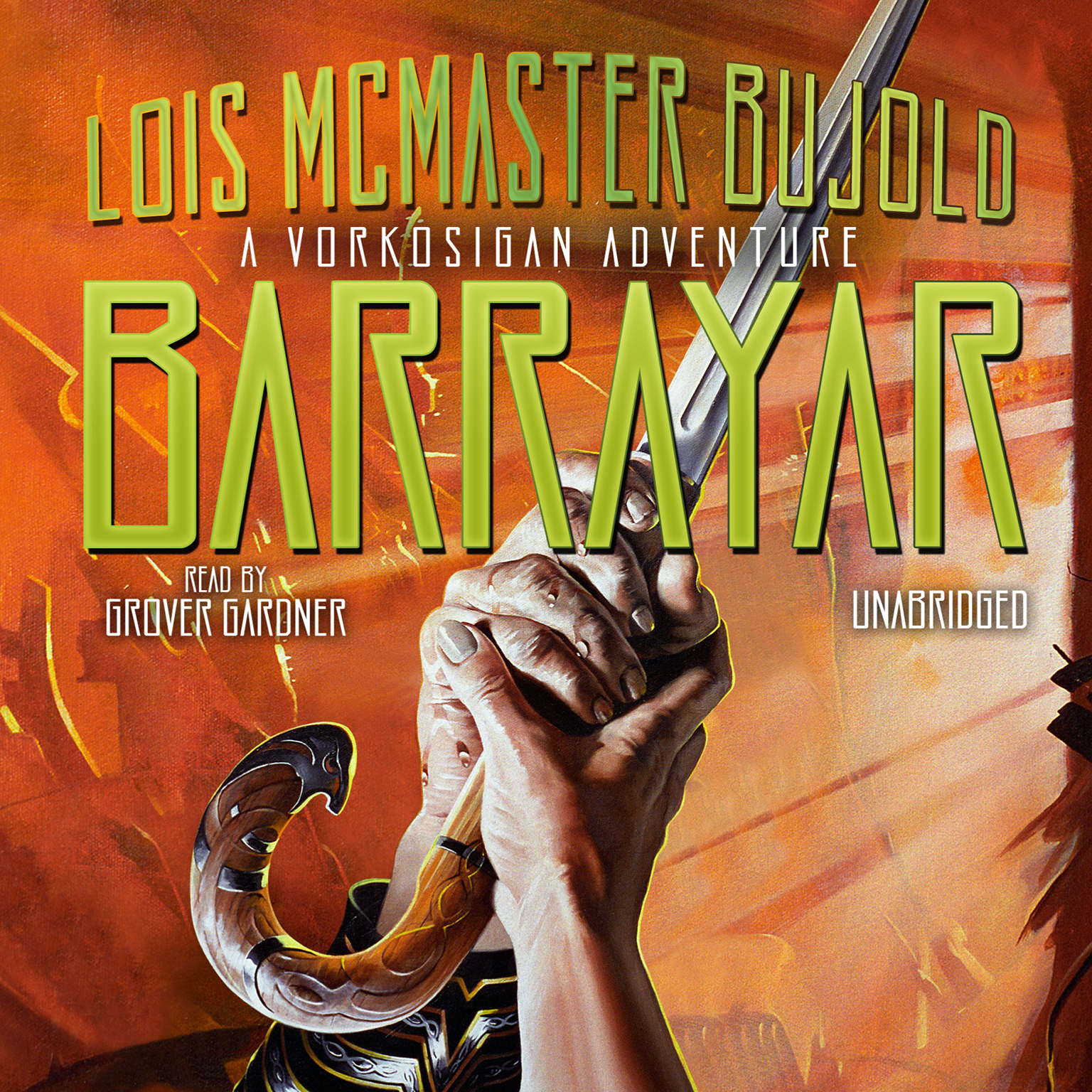 Printable Barrayar Audiobook Cover Art
