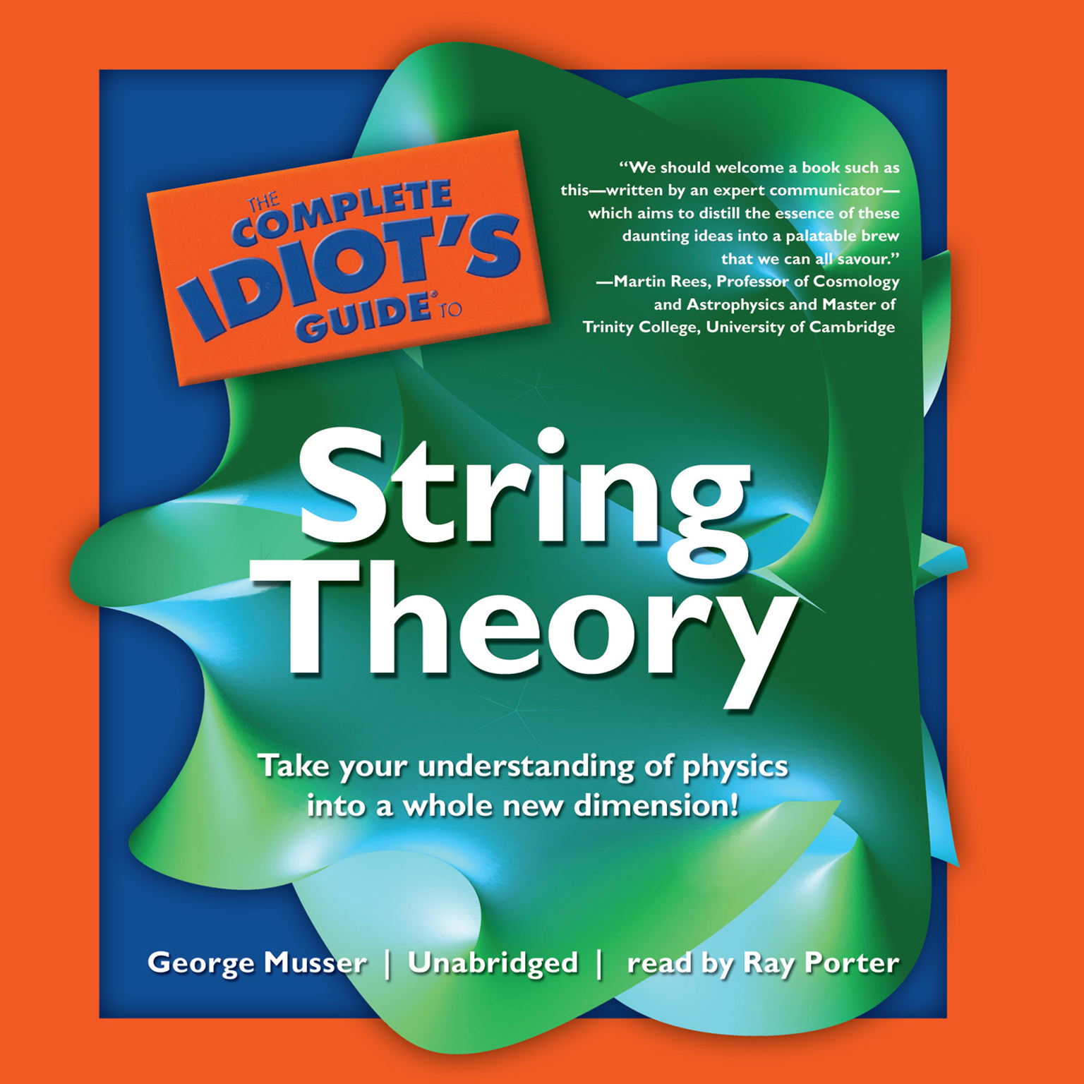 Printable The Complete Idiot's Guide to String Theory Audiobook Cover Art