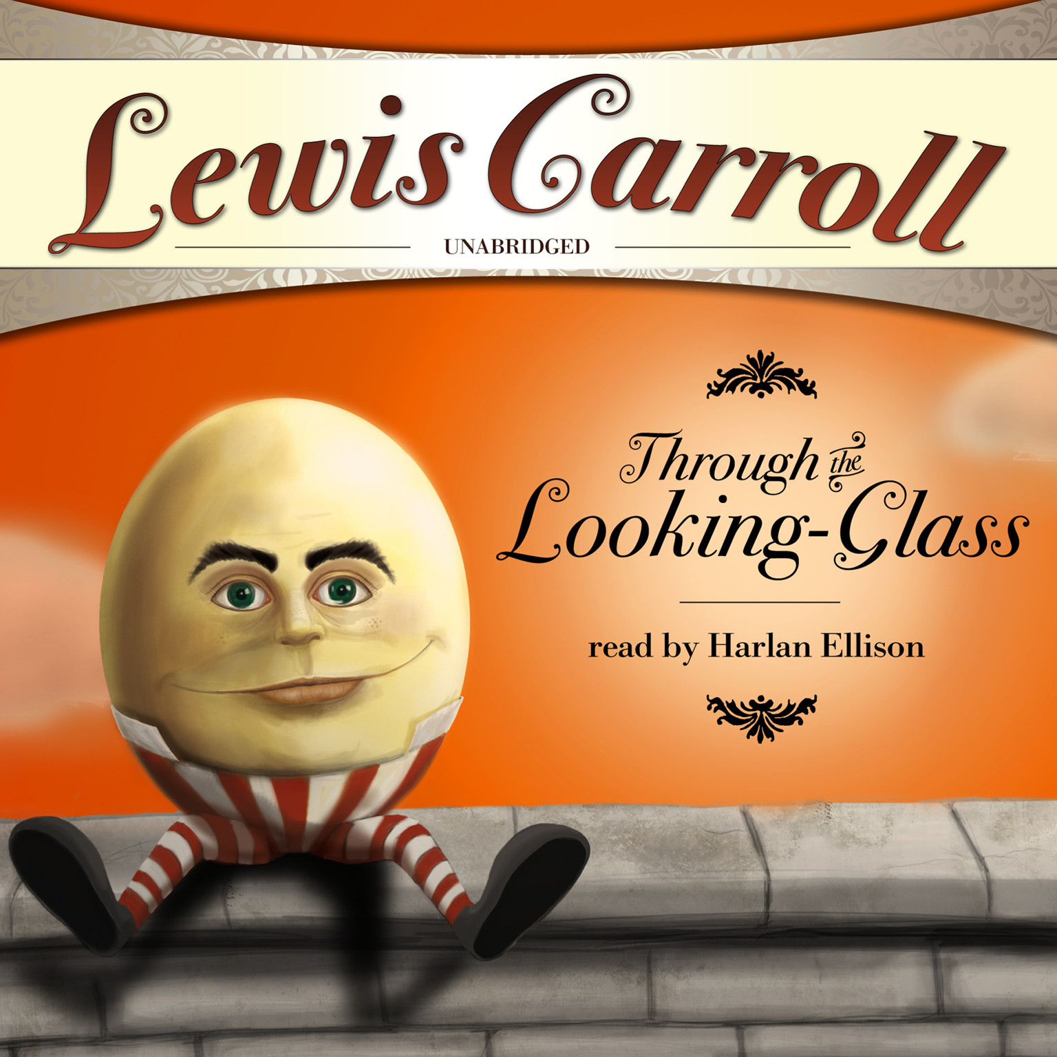Printable Through the Looking-Glass and What Alice Found There Audiobook Cover Art