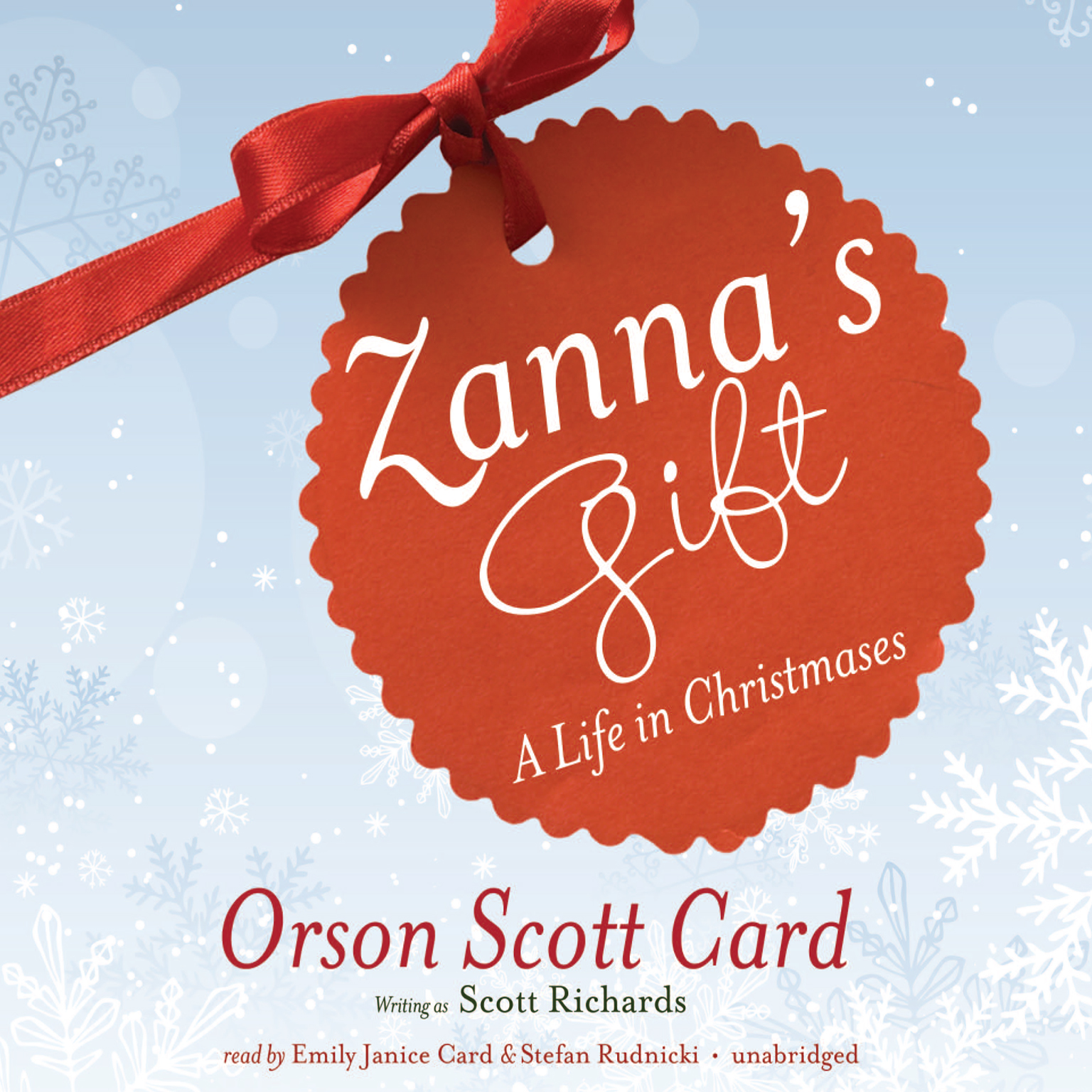 Printable Zanna's Gift: A Life in Christmases Audiobook Cover Art