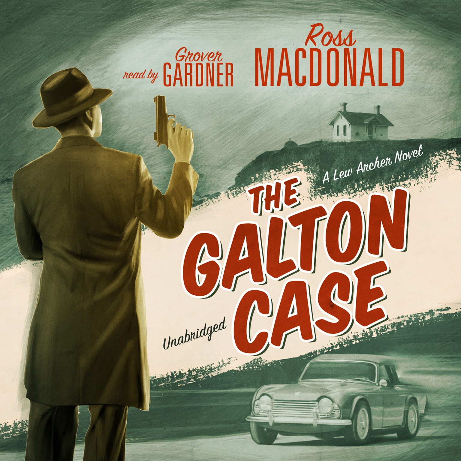 Printable The Galton Case: A Lew Archer Novel Audiobook Cover Art