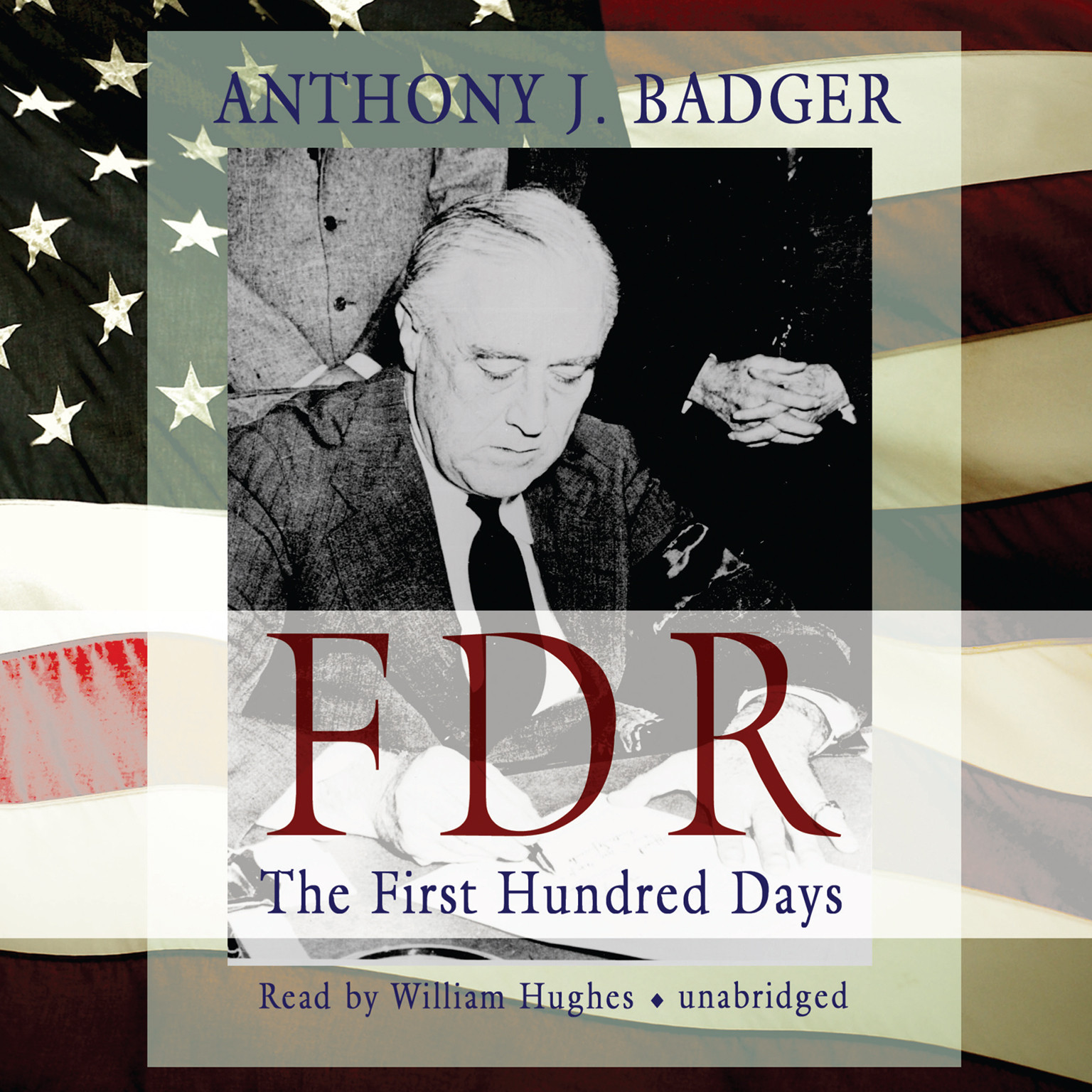 Printable FDR: The First Hundred Days Audiobook Cover Art