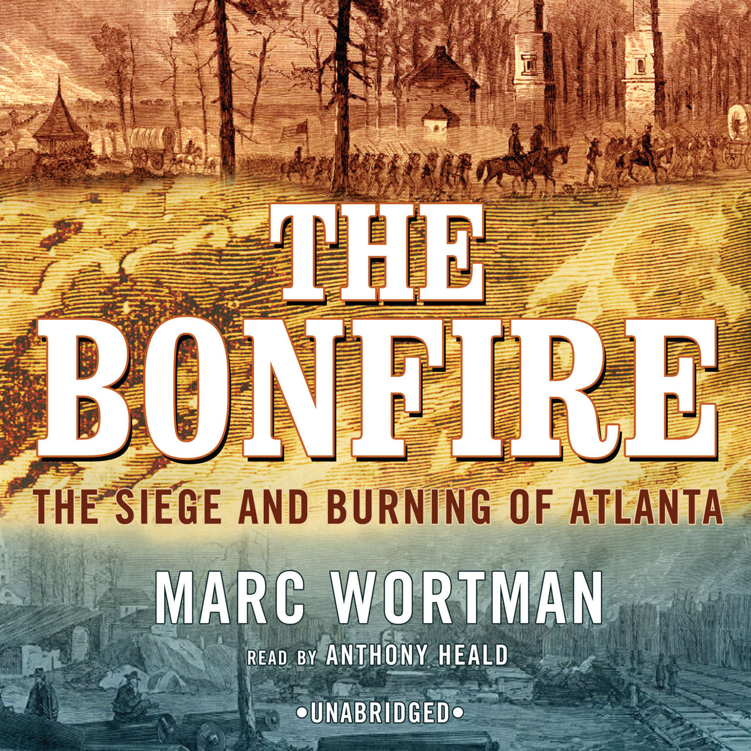Printable The Bonfire: The Siege and Burning of Atlanta Audiobook Cover Art