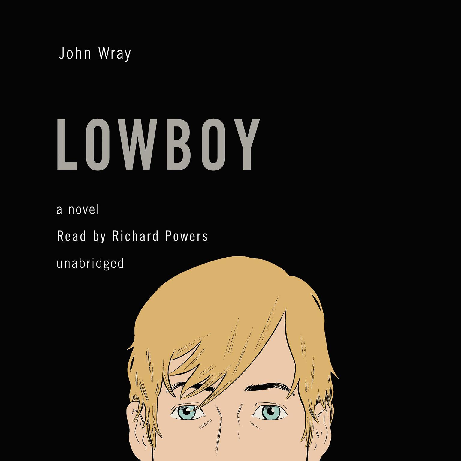 Printable Lowboy Audiobook Cover Art