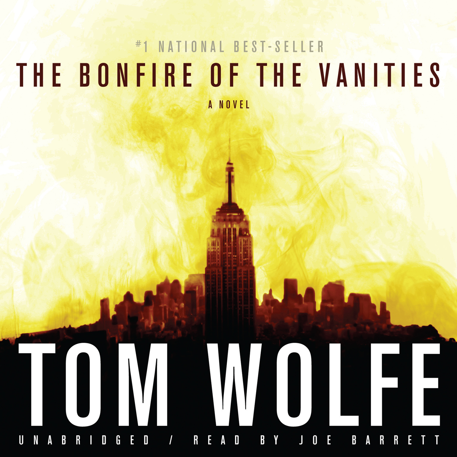 Printable The Bonfire of the Vanities Audiobook Cover Art