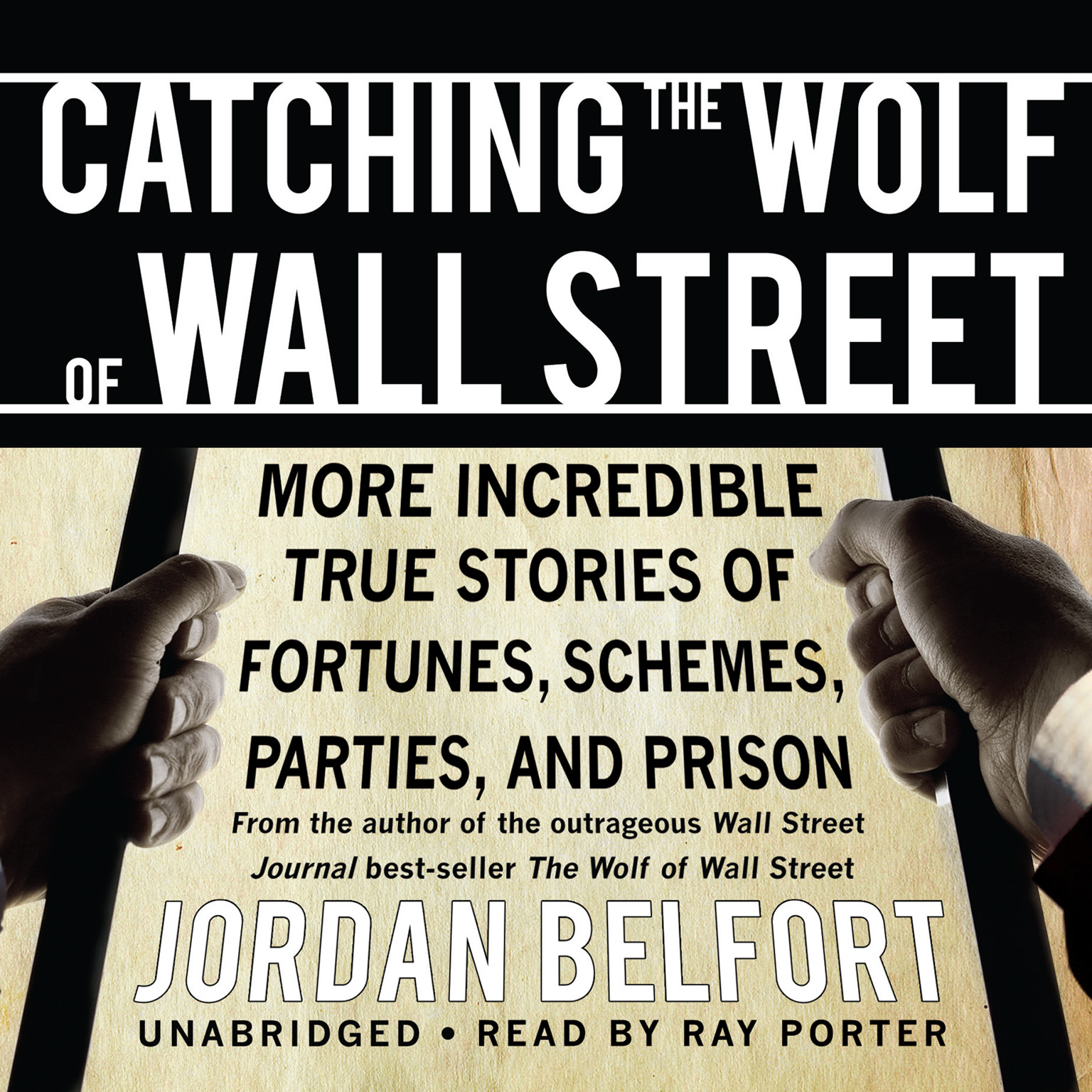 Printable Catching the Wolf of Wall Street Audiobook Cover Art