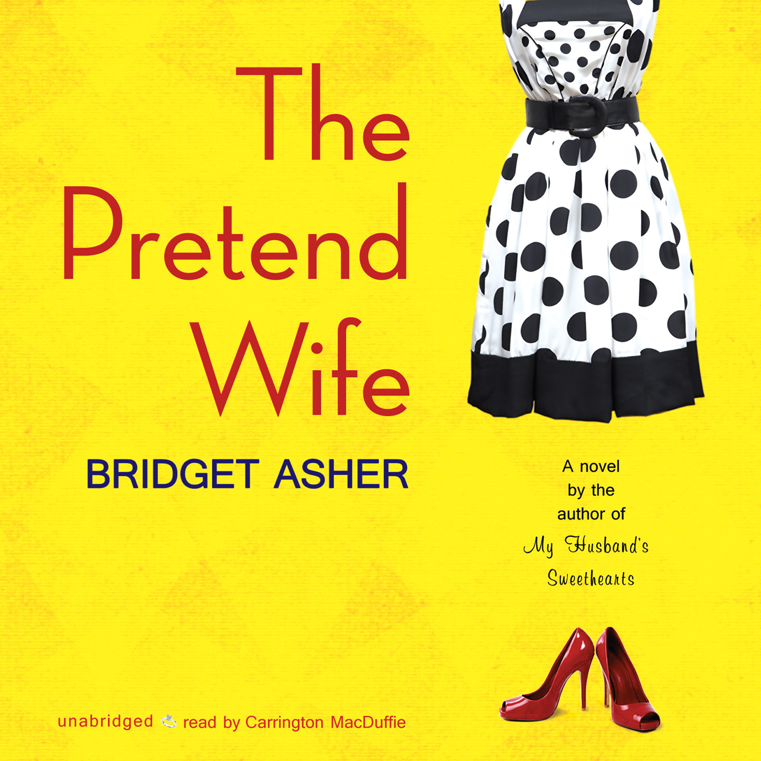 Printable The Pretend Wife Audiobook Cover Art