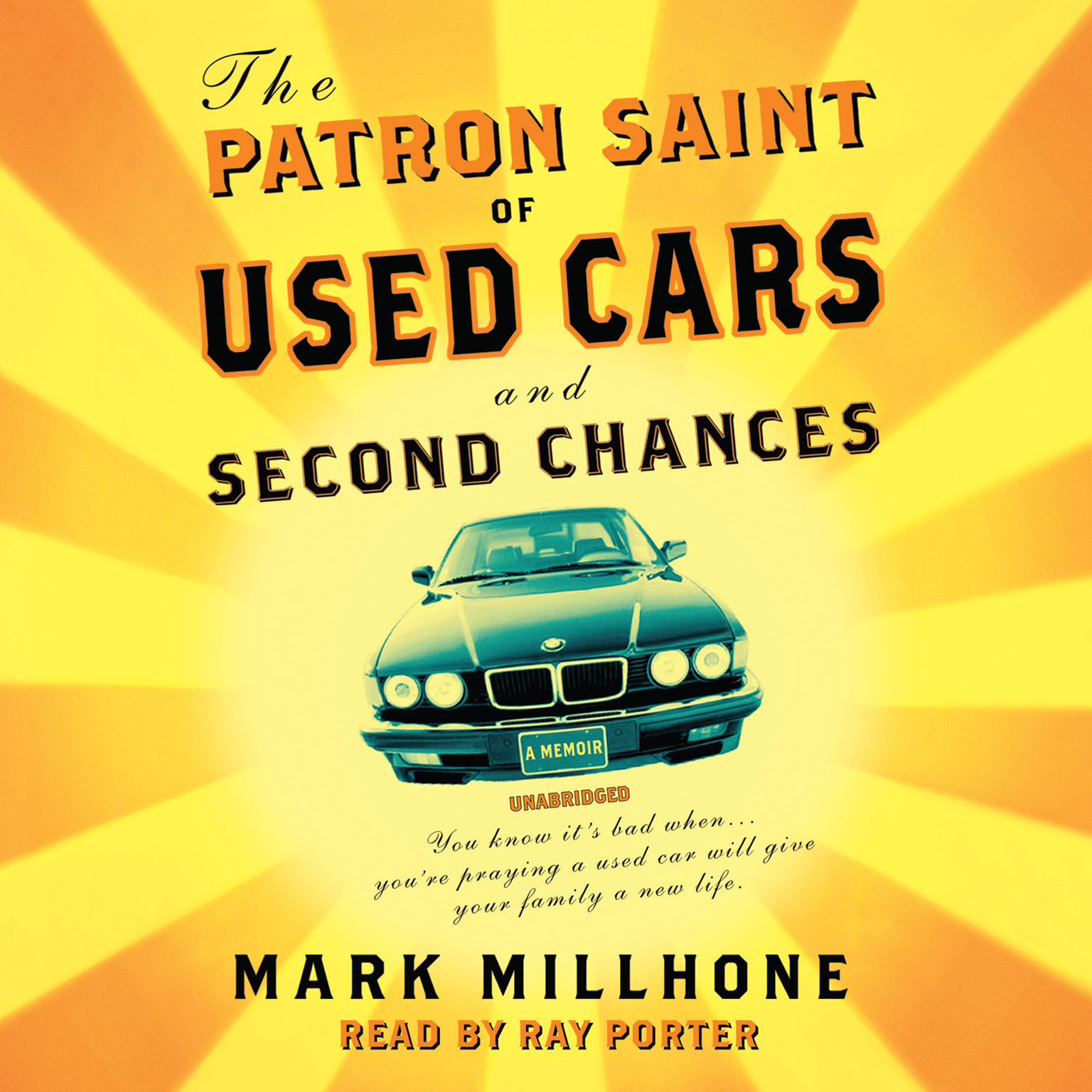 Printable The Patron Saint of Used Cars and Second Chances: A Memoir Audiobook Cover Art