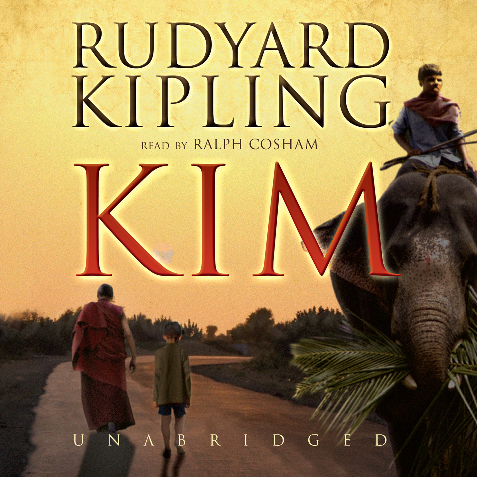 Printable Kim Audiobook Cover Art