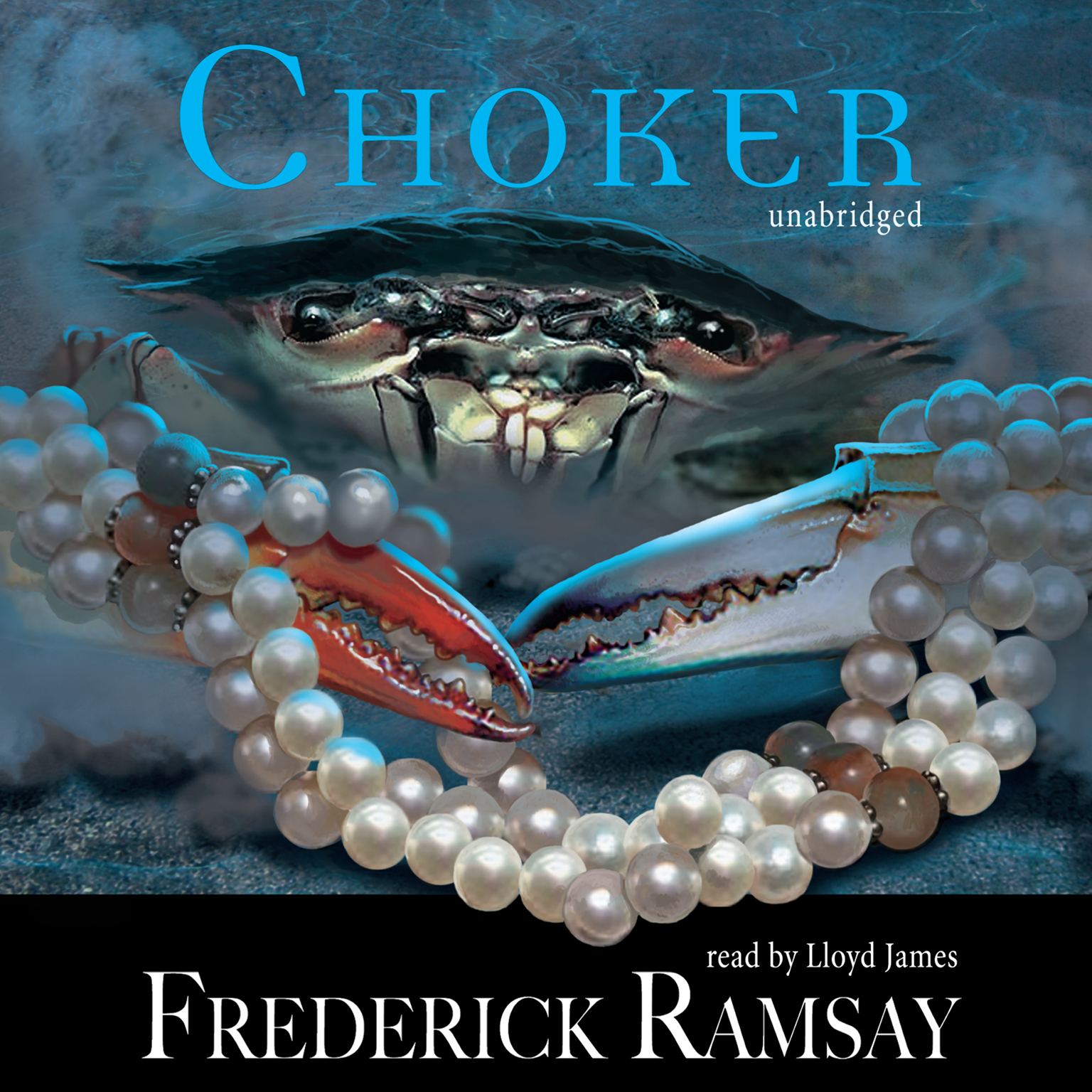 Printable Choker Audiobook Cover Art