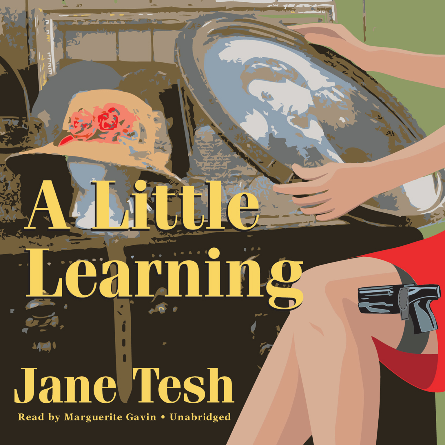 Printable A Little Learning Audiobook Cover Art