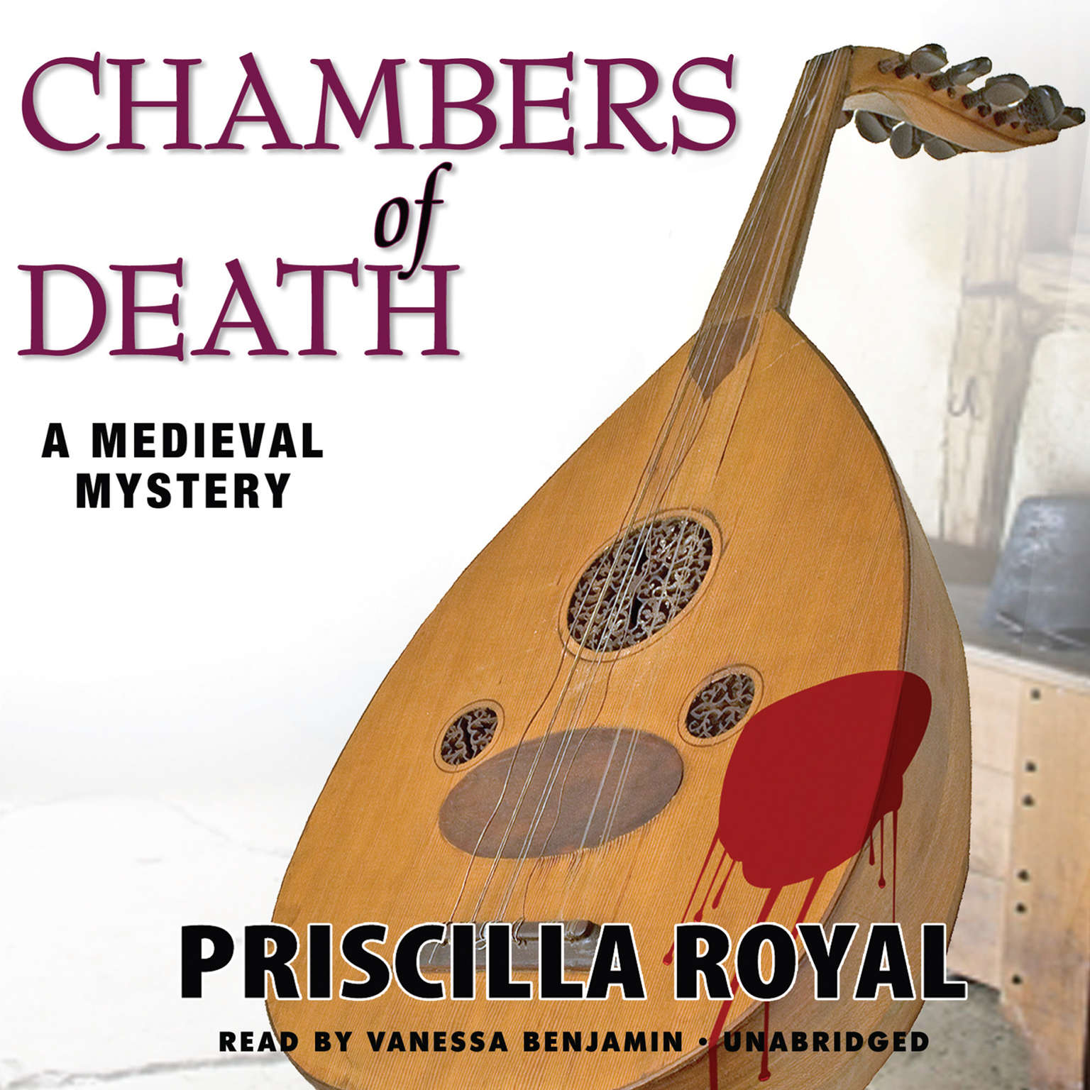 Printable Chambers of Death: A Medieval Mystery Audiobook Cover Art