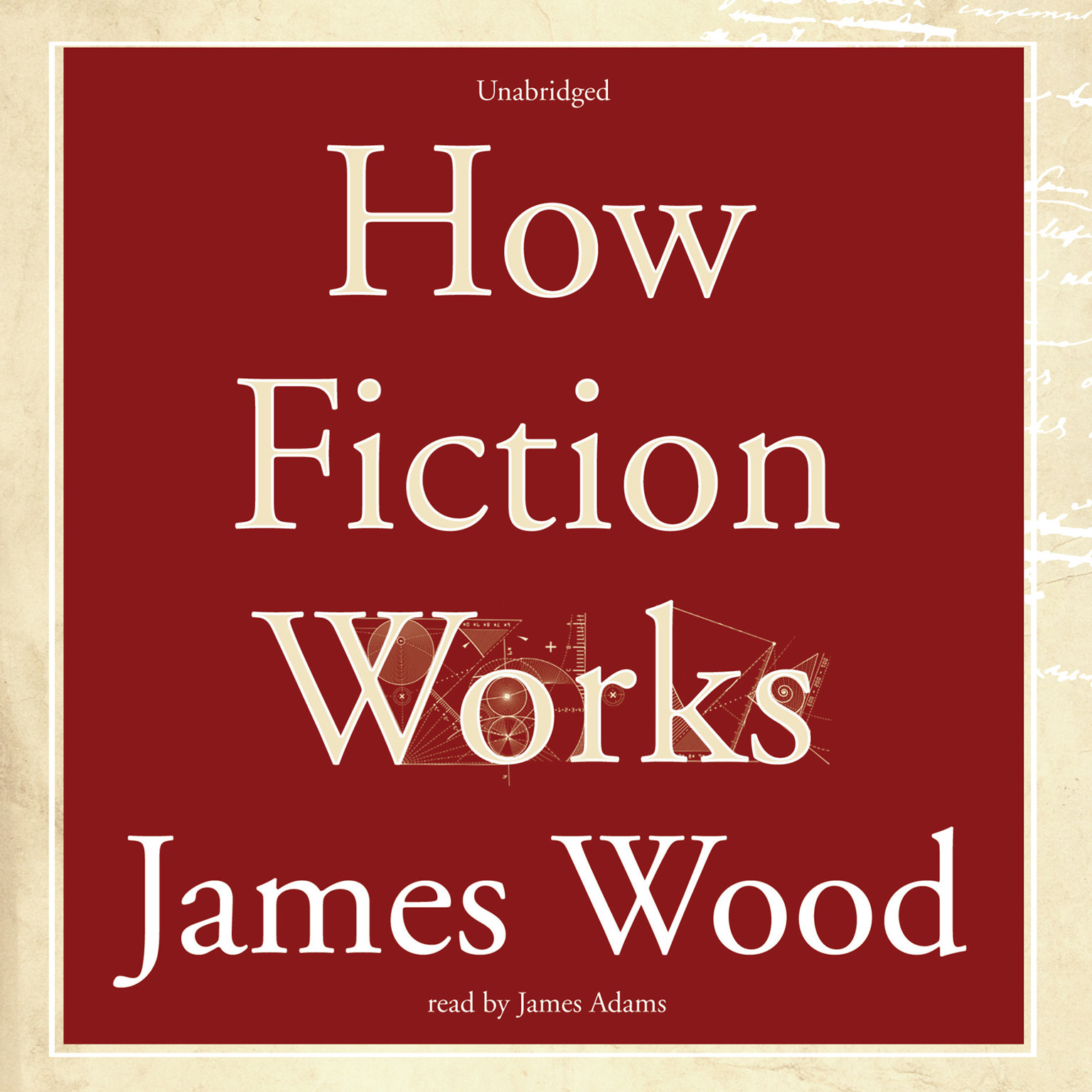 Printable How Fiction Works Audiobook Cover Art